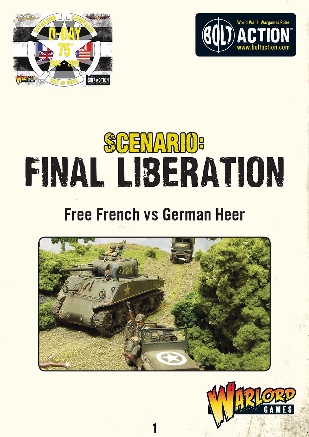 Final Liberation | Bolt Action