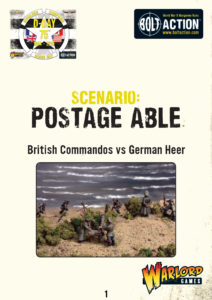 Postage Able - Bolt Action Scenario | British Commandos vs German Heer