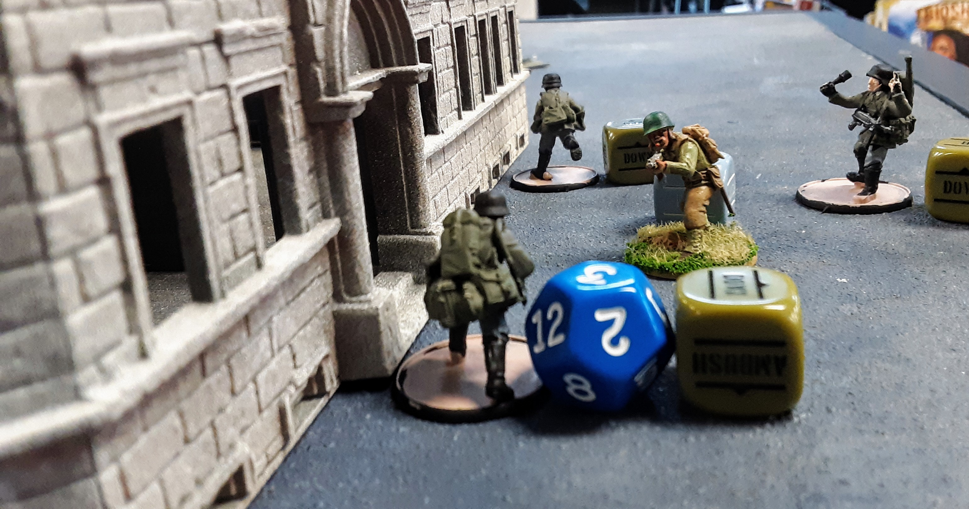289th Infantry Regiment versus 352nd Pionier Battalion in a fierce infantry engagement