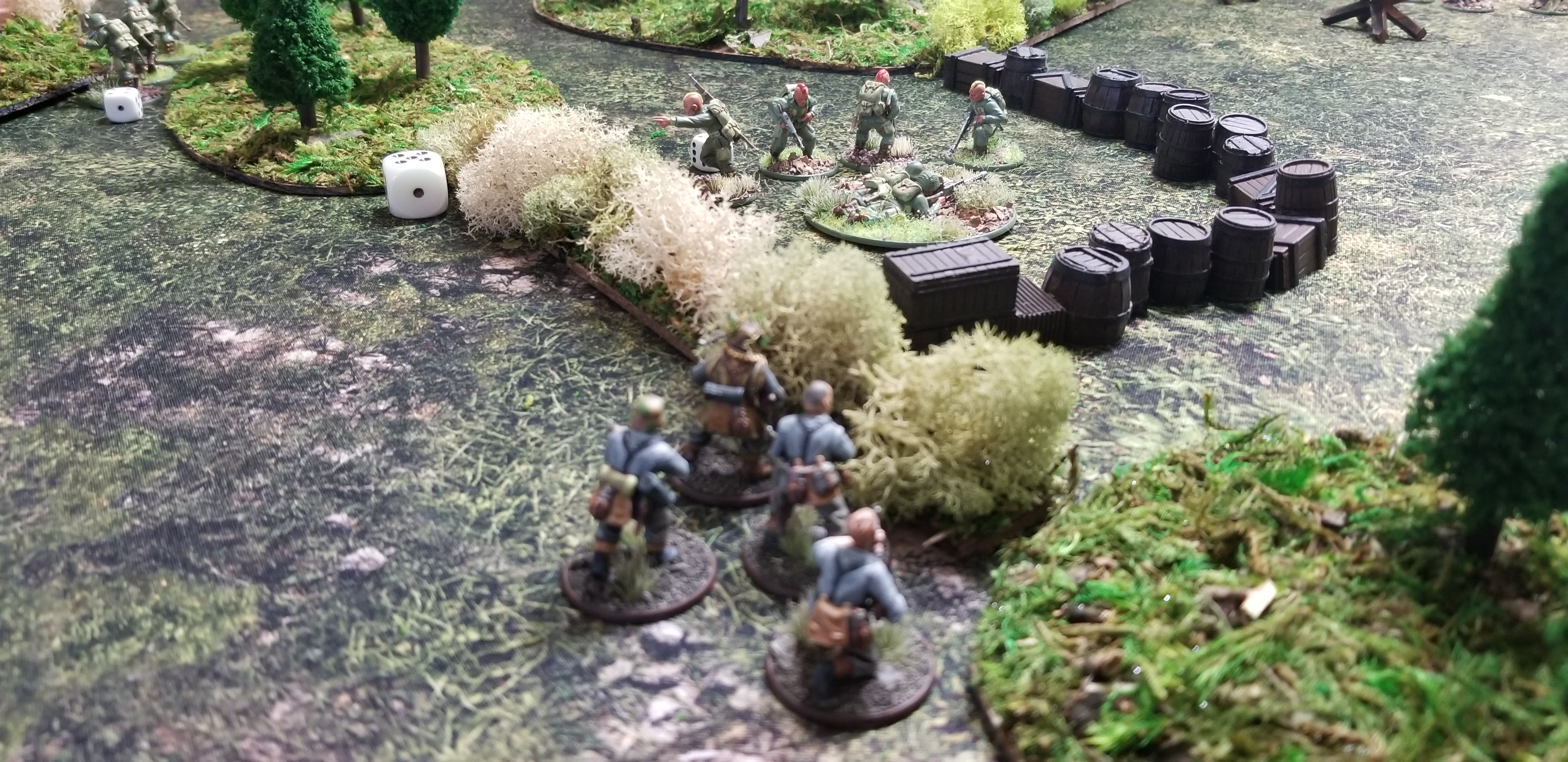 Armstrong's Allies versus Mmmmsausages! in a fierce infantry engagement