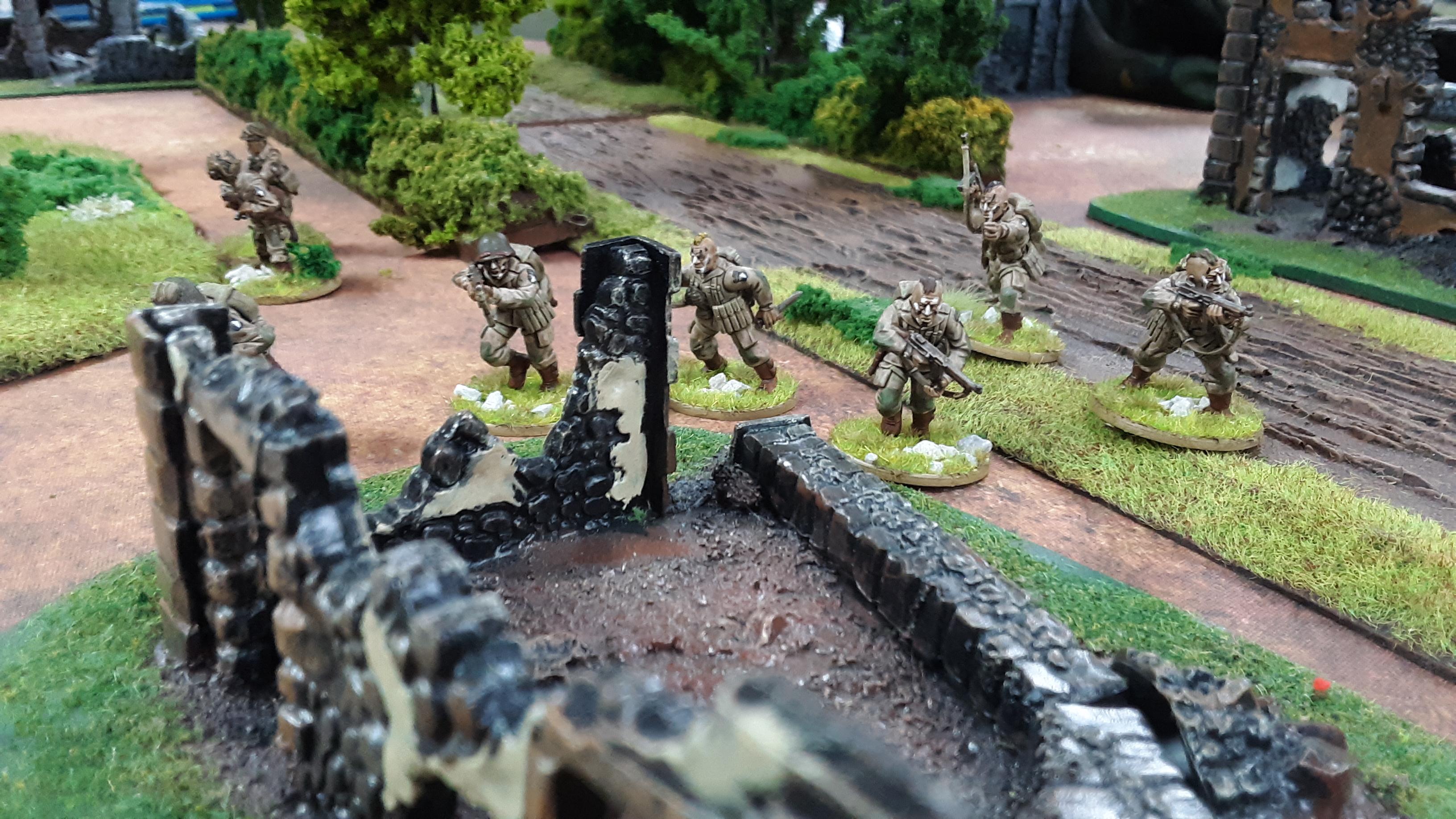 289th Infantry Regiment versus 352nd Pionier Battalion in a fierce infantry engagement