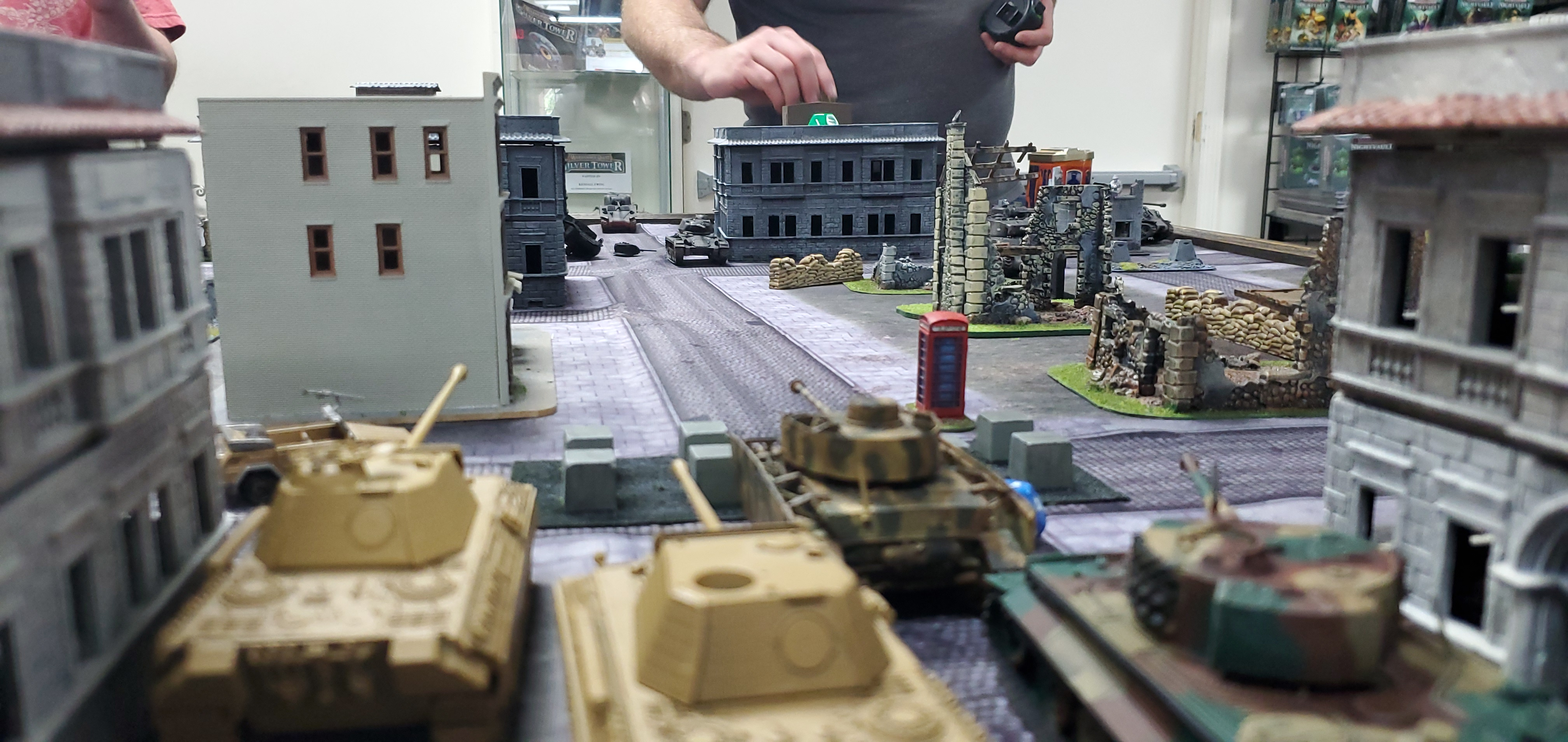 1st SS Panzer Division Leibstandarte SS Adolf Hitler versus Daves USA in an armoured engagement