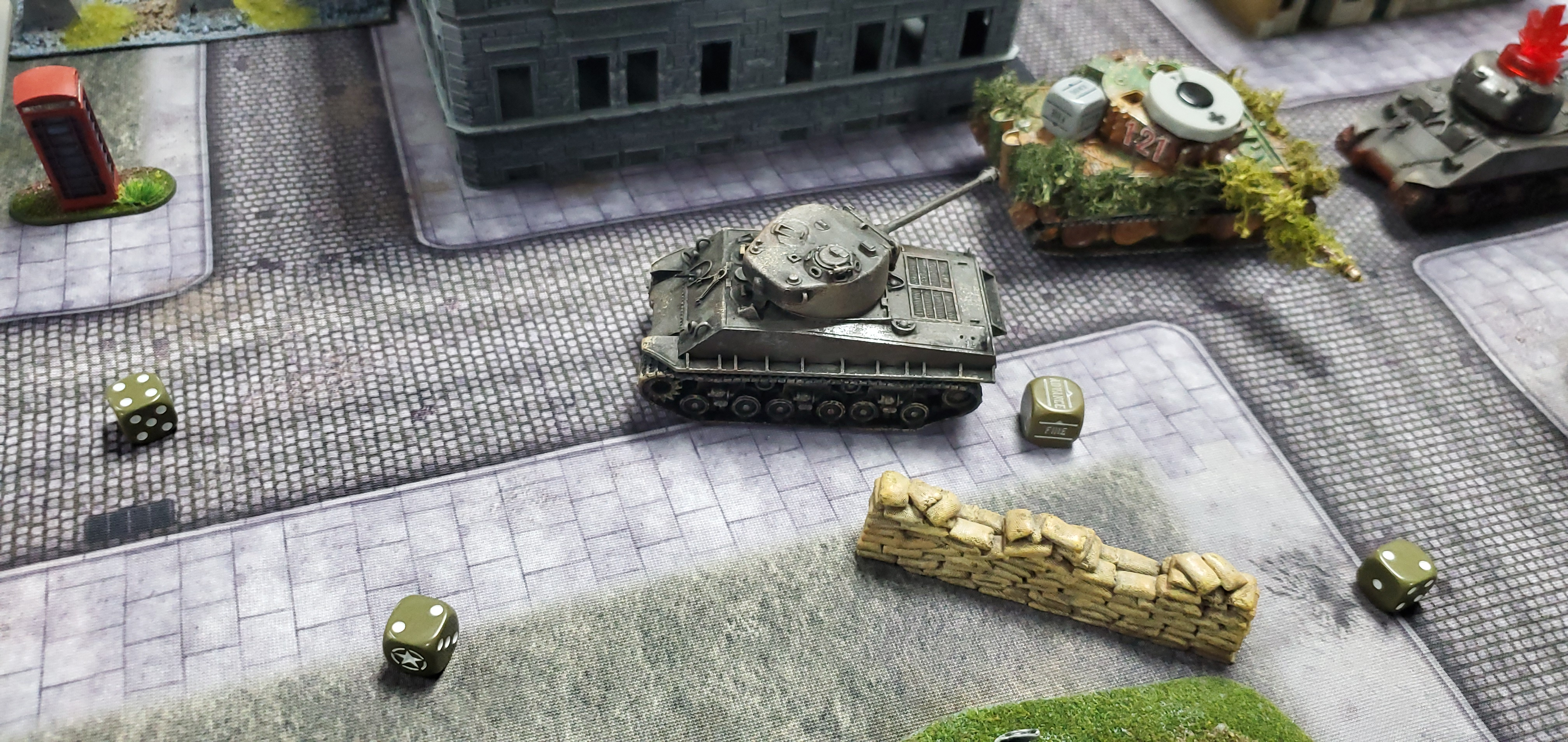 1st SS Panzer Division Leibstandarte SS Adolf Hitler versus Company B in an armoured engagement