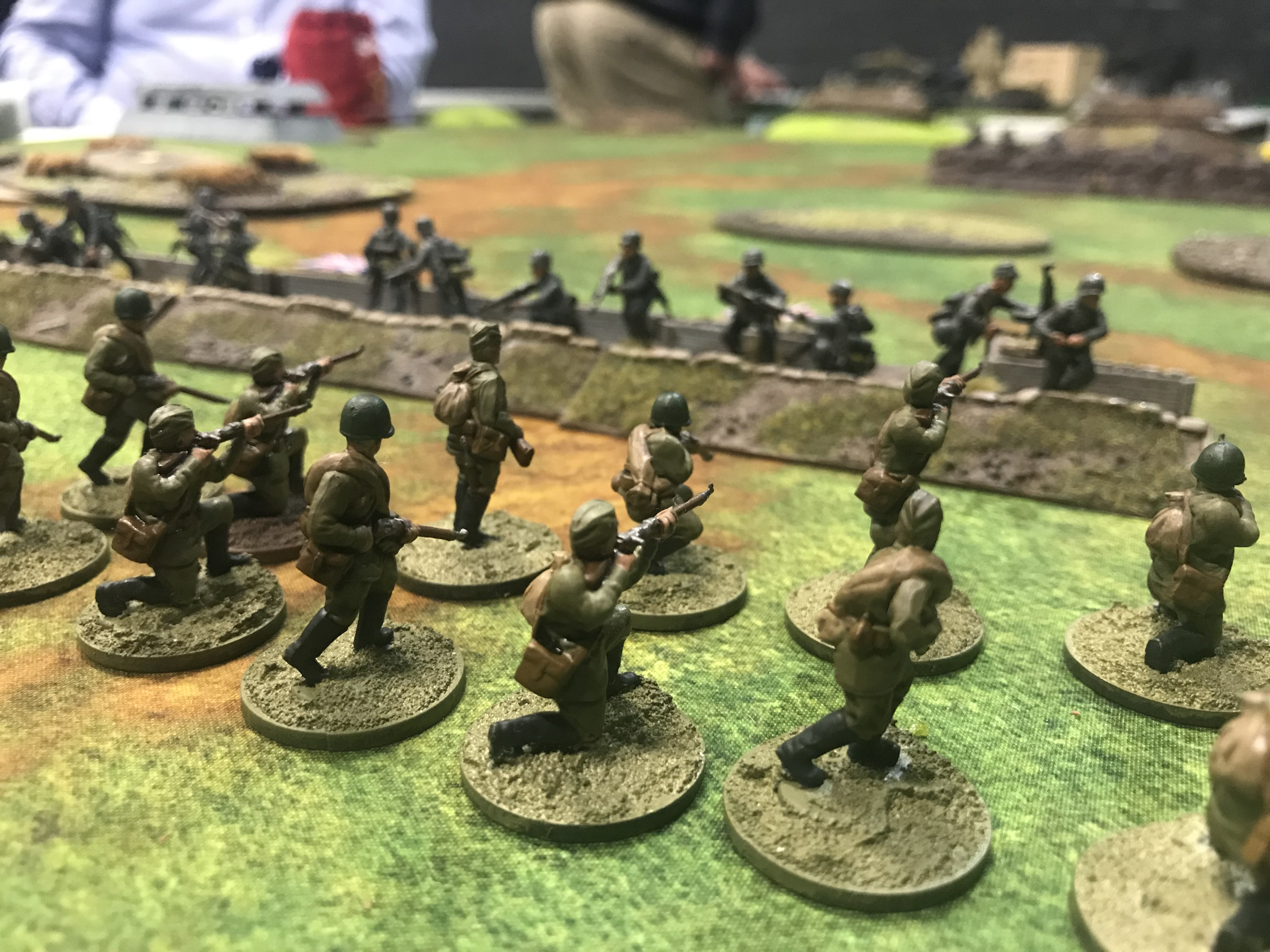 Eastern Liberators versus Kampfgruppe Pablo in a fierce infantry engagement