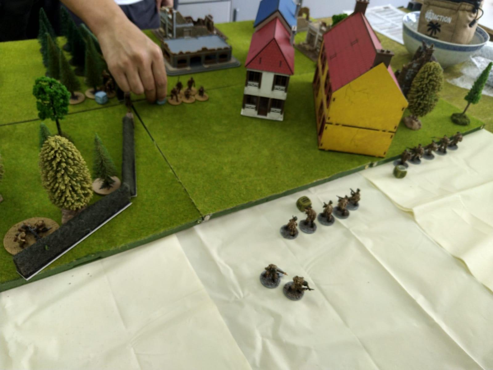 4077th Mechanisierte Infanterie versus DarkSeed in a fierce infantry engagement