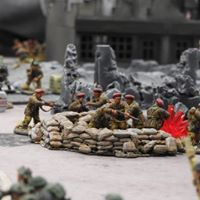 british airborn versus PapaShultzDivision in a fierce infantry engagement