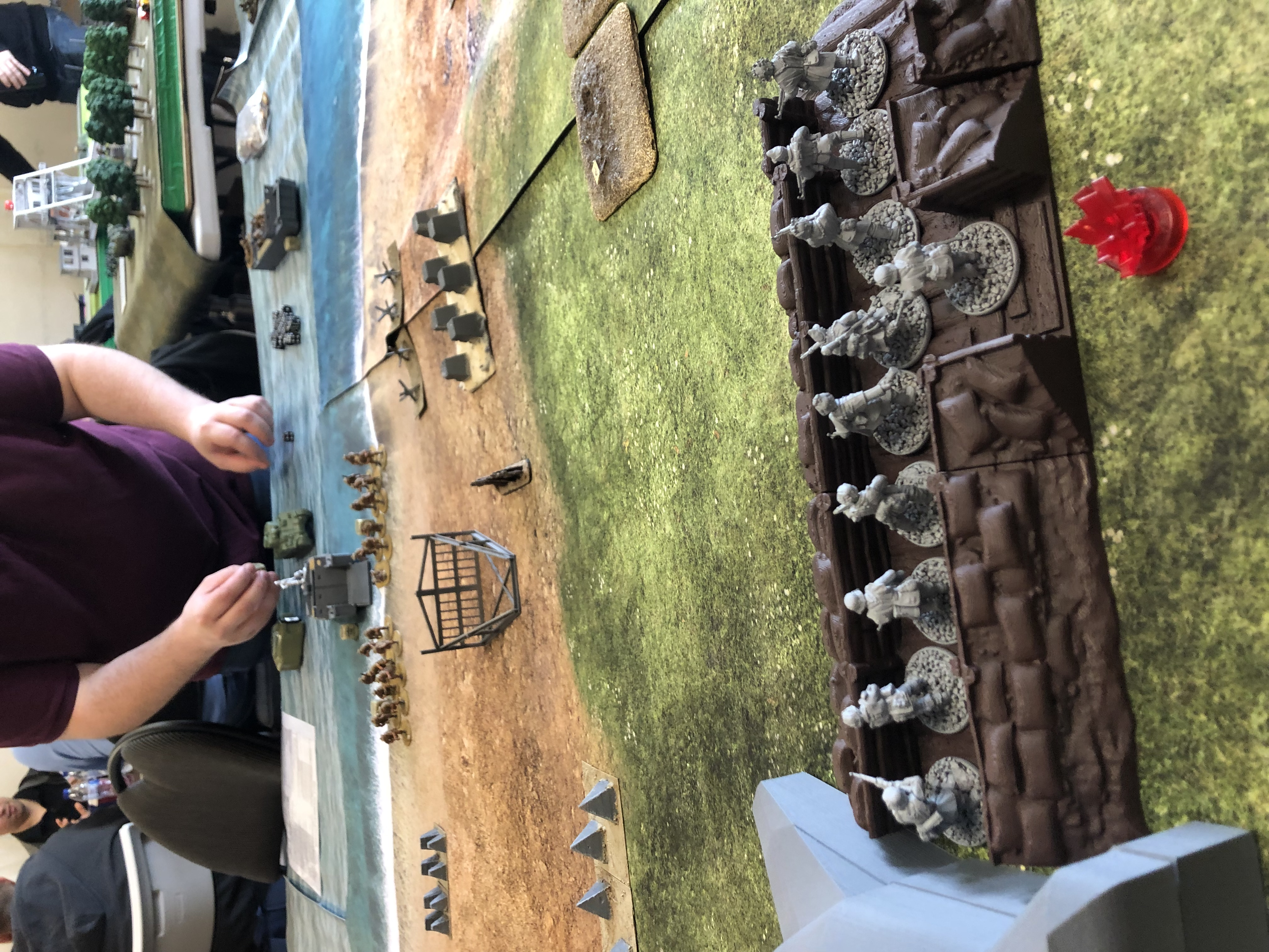 Kampfgruppe Pablo versus 6th Airbourne in a fierce infantry engagement