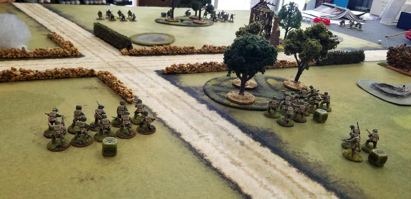 502d PIR versus 922. Grenadier Regiment, 3rd Bn in a fierce infantry engagement