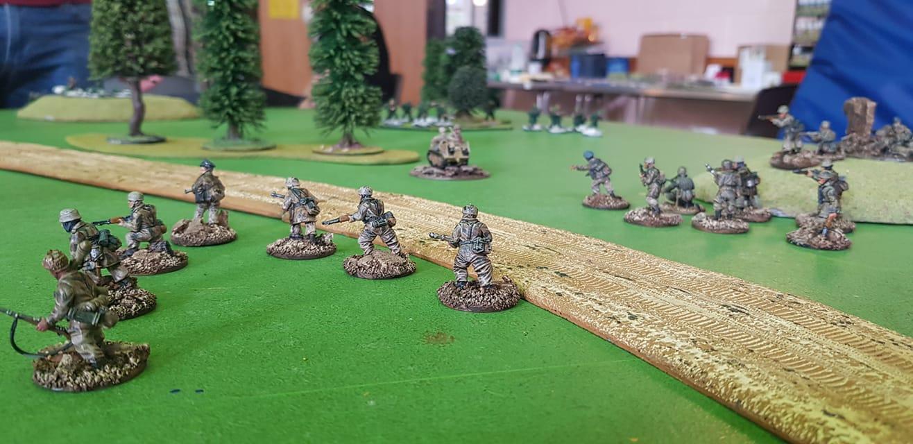 6FJ Battalion versus 6FJ Battalion in a fierce infantry engagement