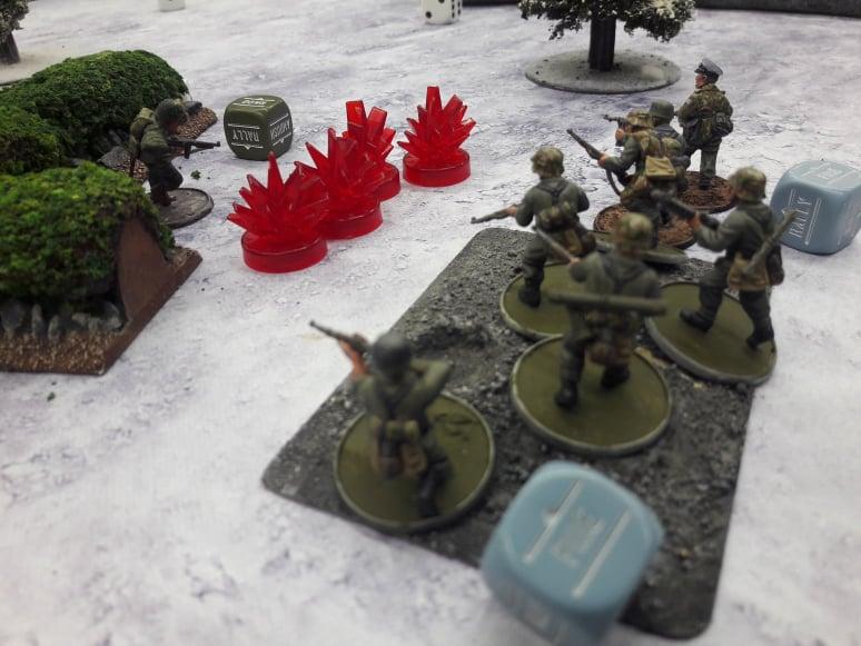 The Big Red One versus 6. Fallschirmjägerregiment in a fierce infantry engagement