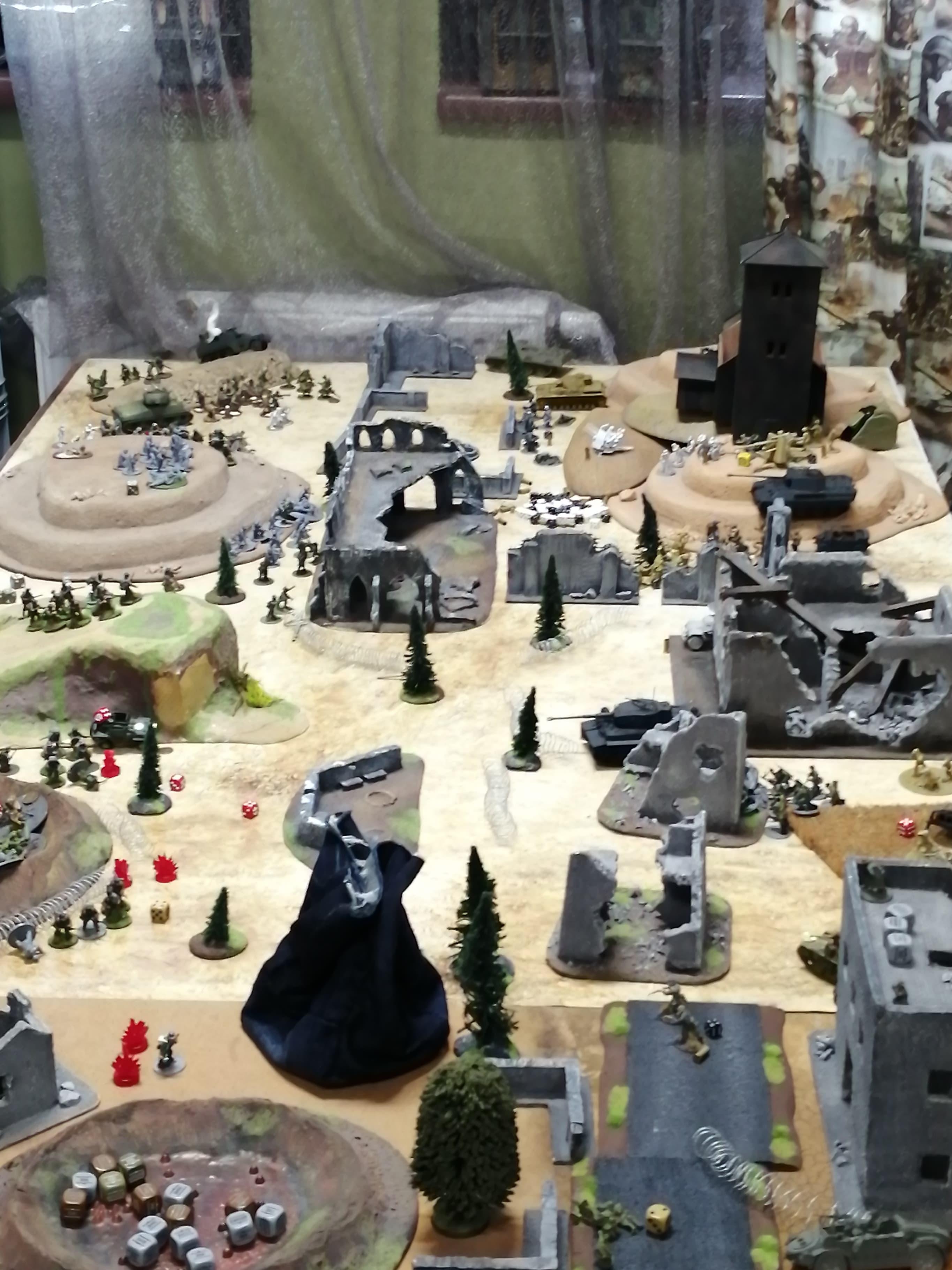 Regio XXI versus Hamburgers and tea lovers in a fierce infantry engagement