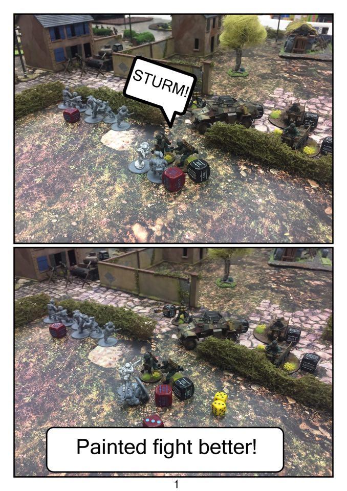 Ferfluhte versus Najkrotsza Droga in a fierce infantry engagement
