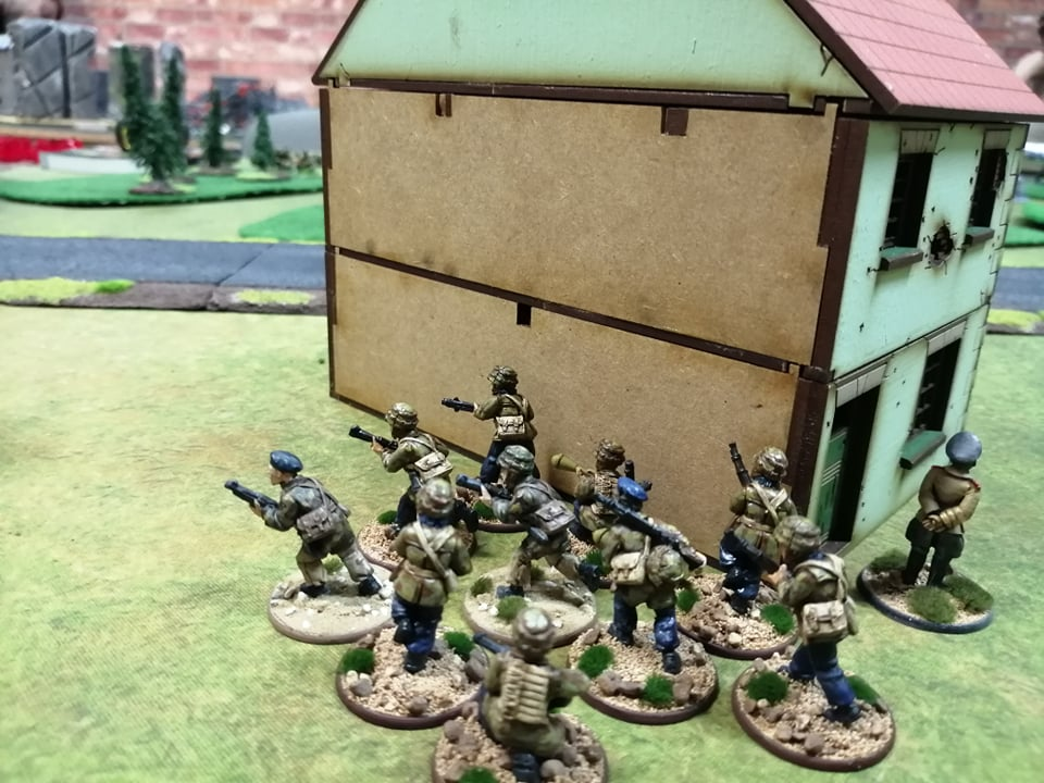 Regio XXI versus Hamburgers and tea lovers in a fierce infantry engagement