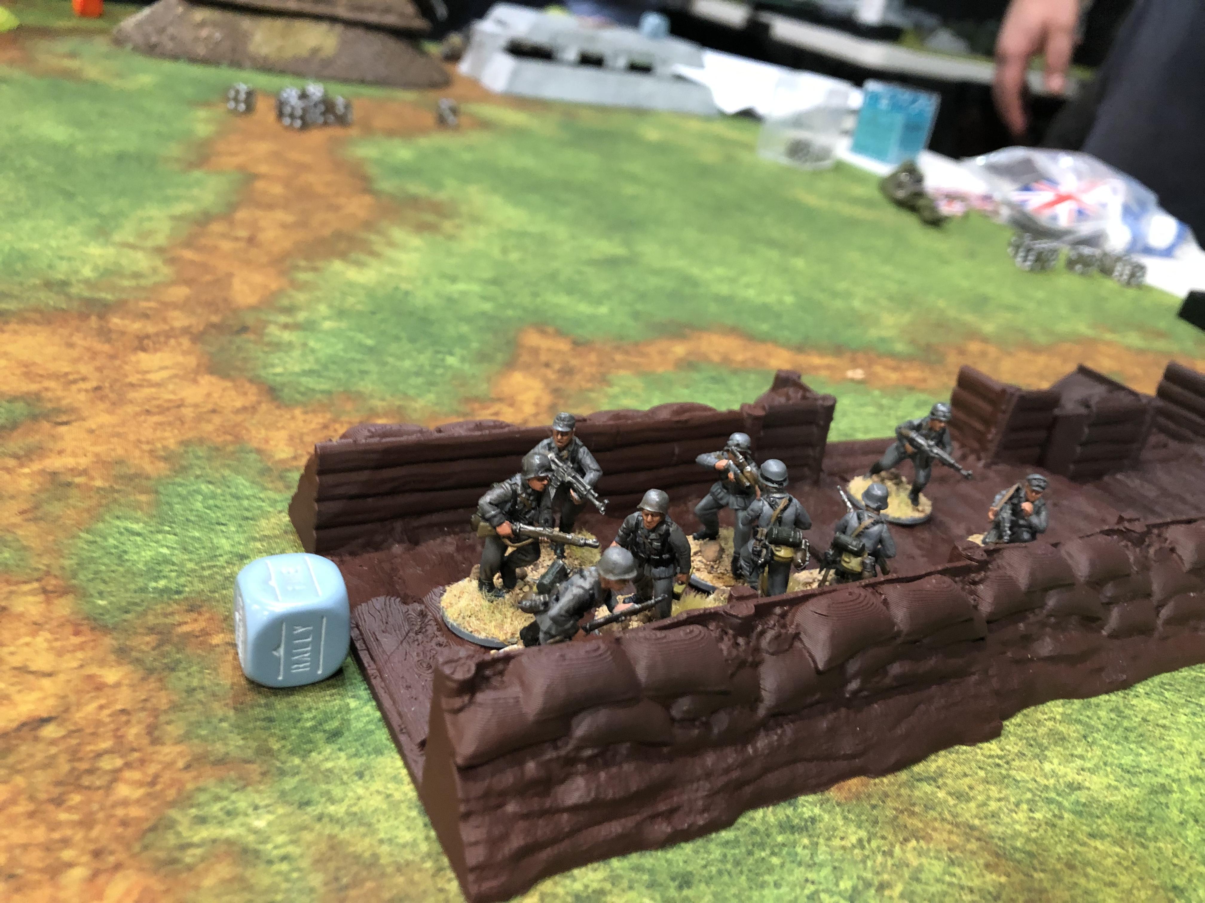 Pavlov's Dogs versus Herman's Germans in a fierce infantry engagement