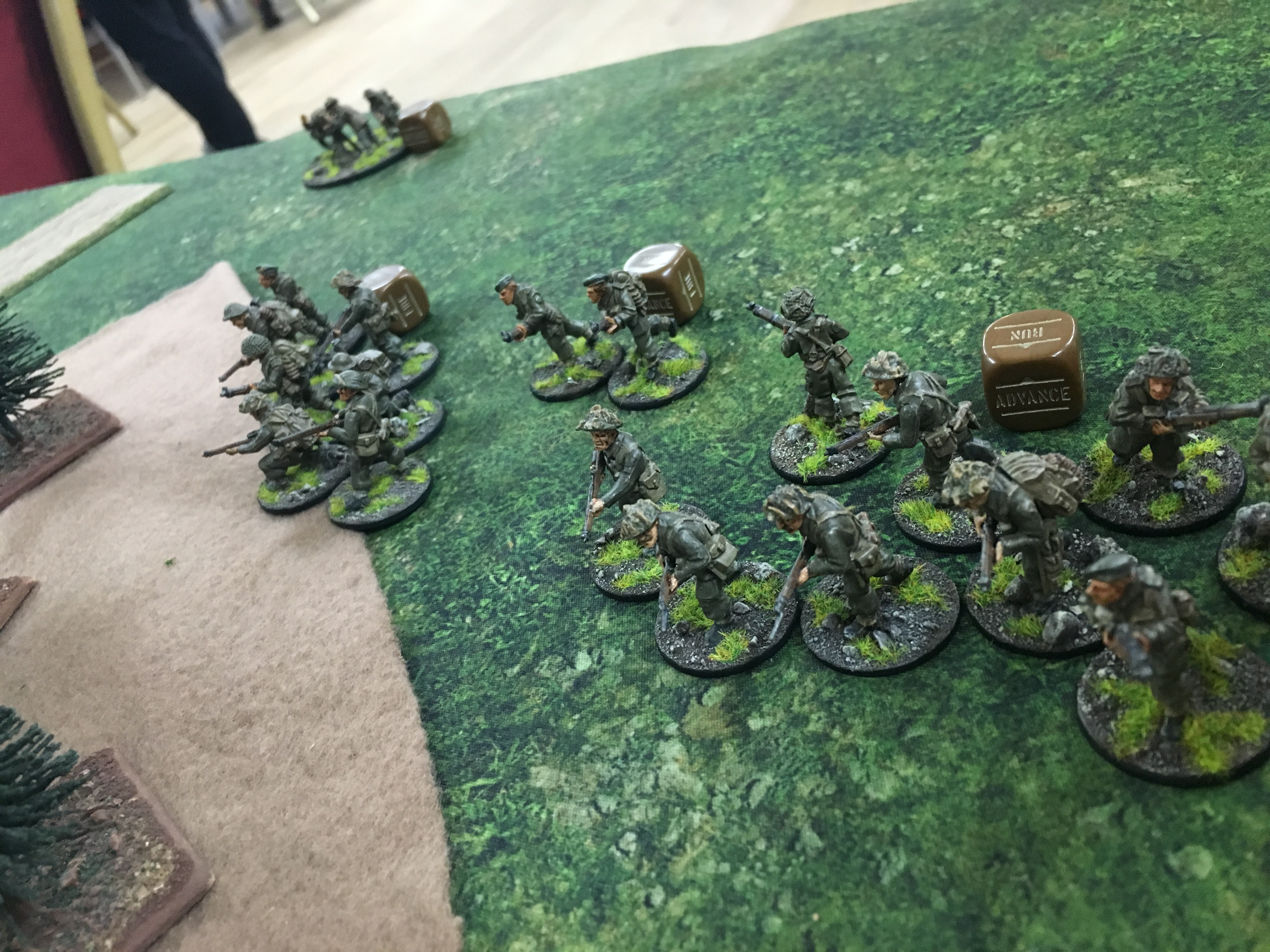 Canadian assault force versus German grenadier's in a fierce infantry engagement