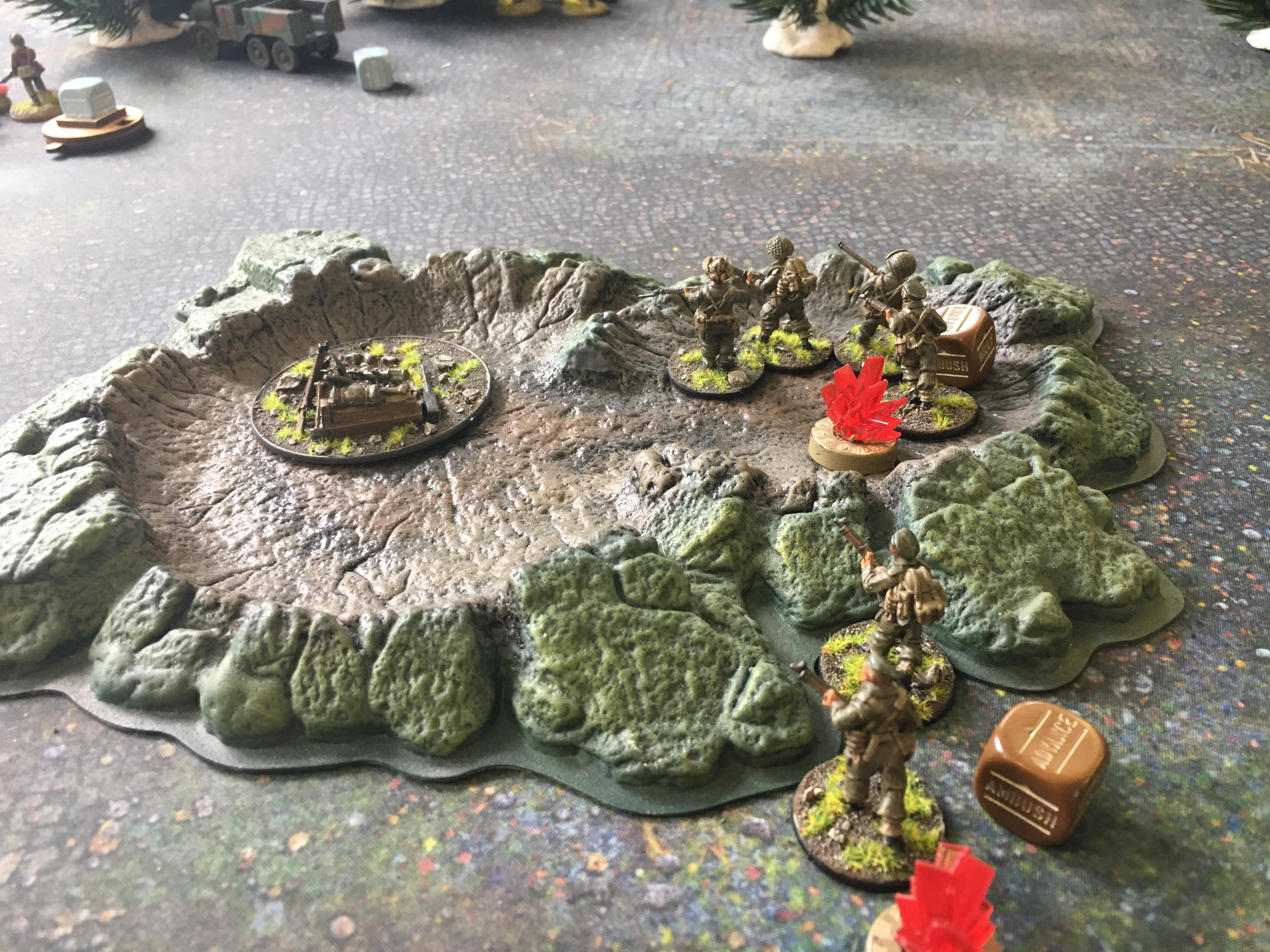 Canadian assault force versus German grenadier's in a fierce infantry engagement