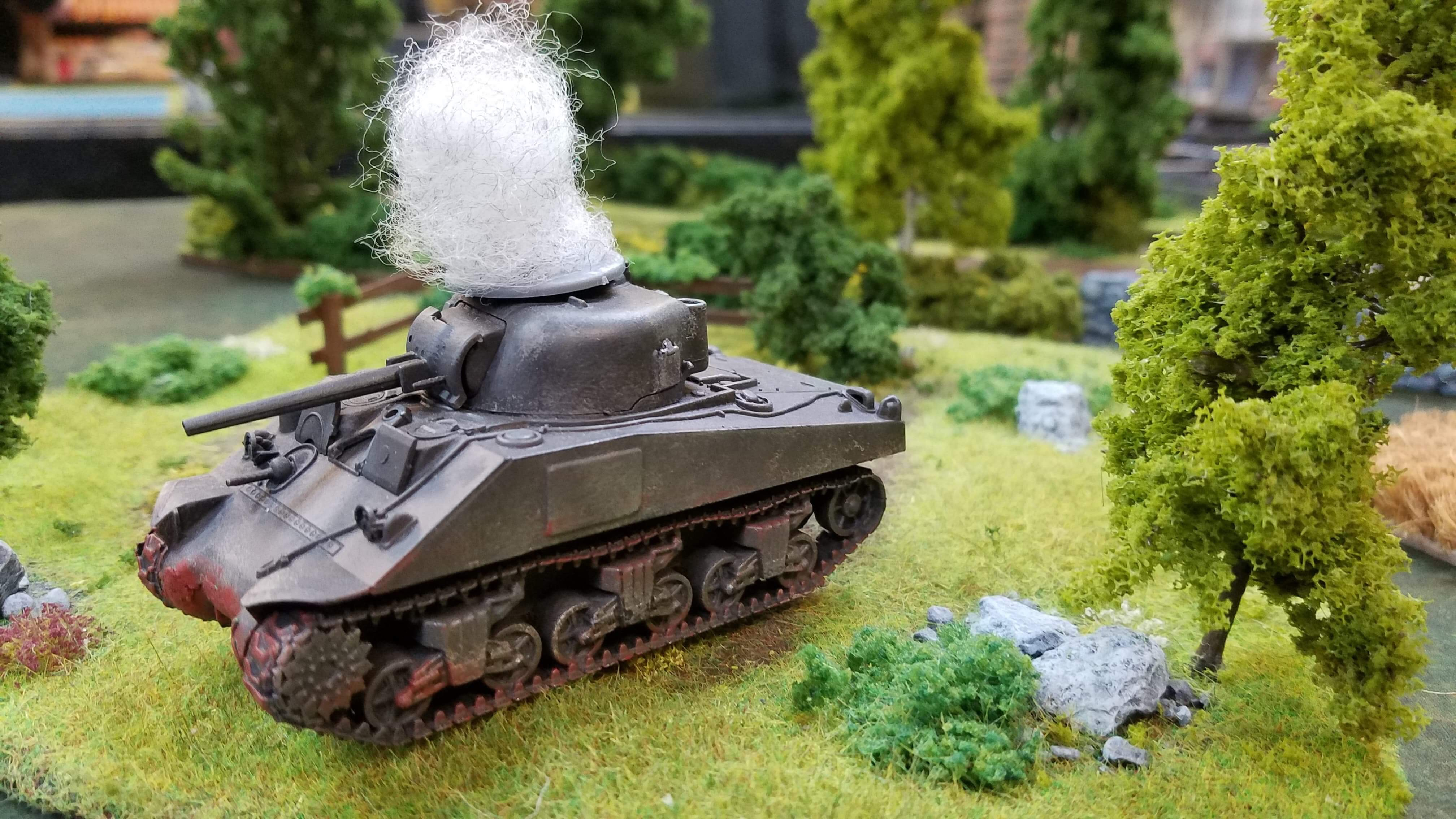 352nd Pionier Battalion versus Daves USA in an armoured engagement