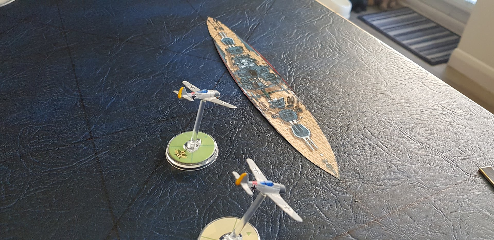 Luftdwarfer versus 603 squadron in an aerial engagement