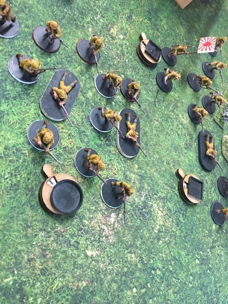FFI versus The Rising Sun in a fierce infantry engagement