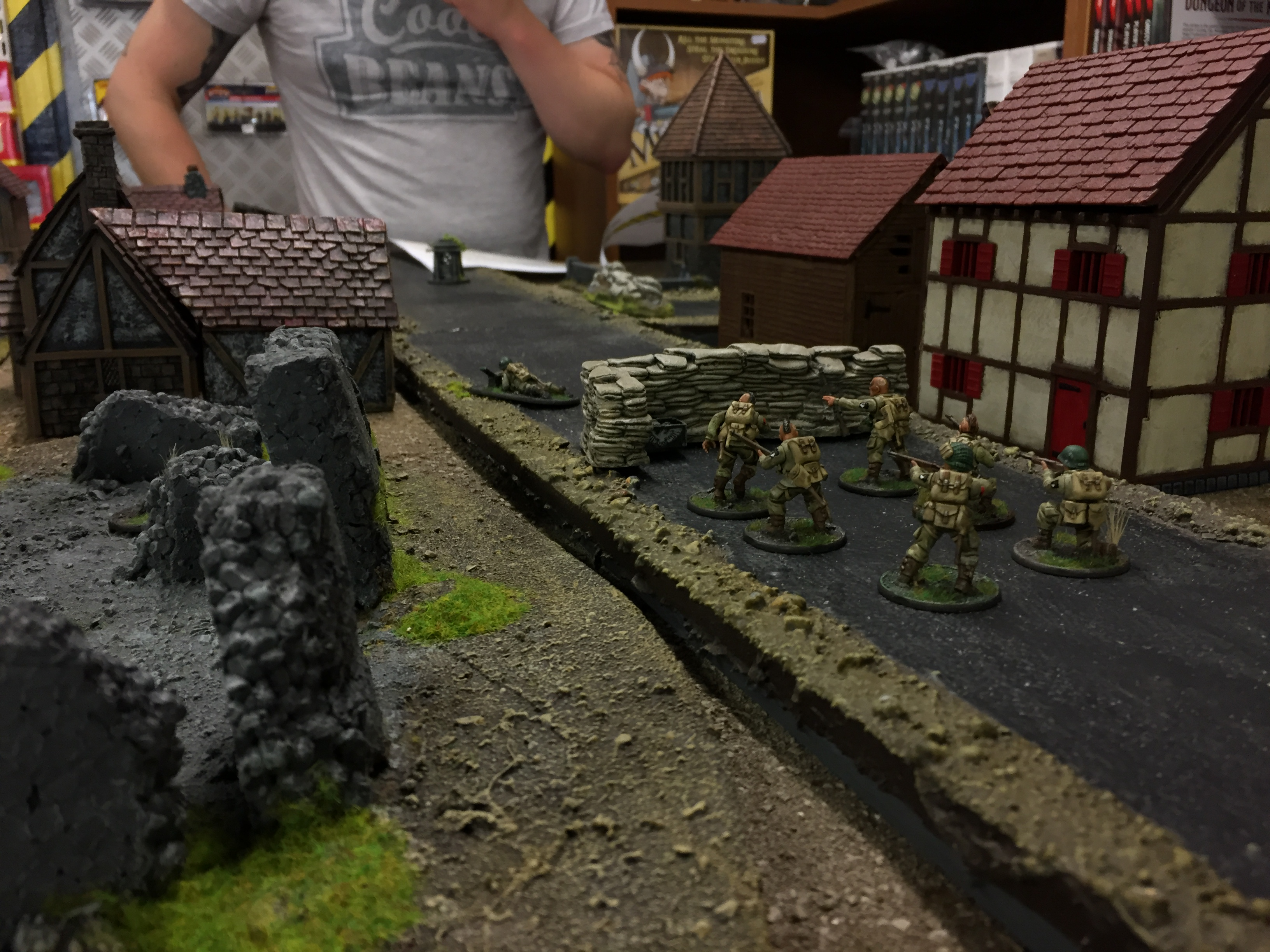 Yossarian command versus 37th Mountain Division in a fierce infantry engagement