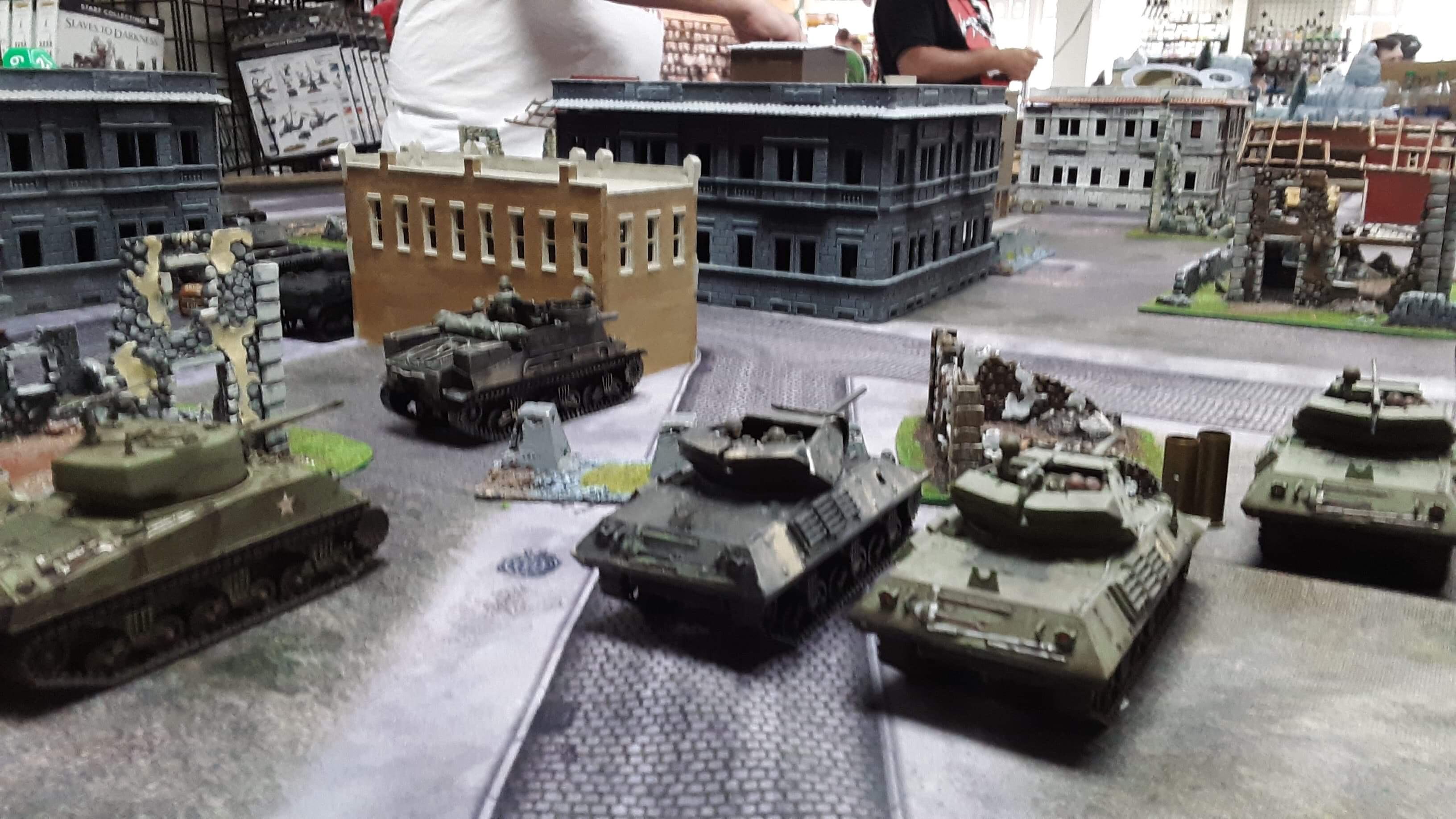 352nd Pionier Battalion versus 289th Infantry Regiment in an armoured engagement