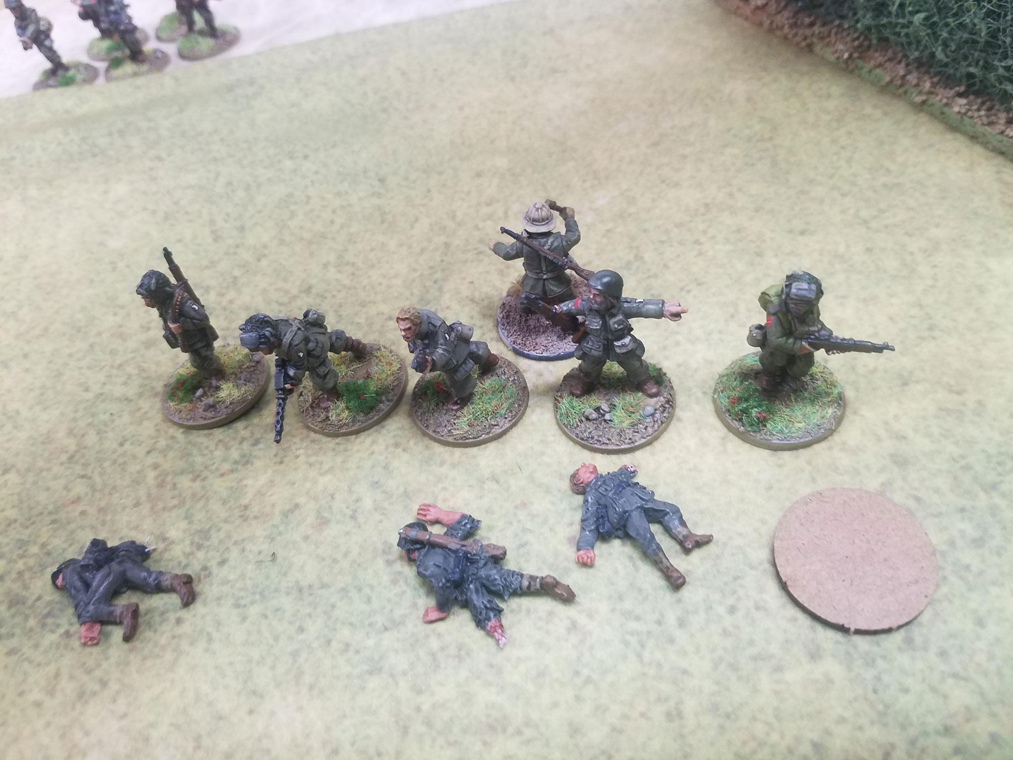 Lawn Darts versus 2nd Panzer Div in a fierce infantry engagement