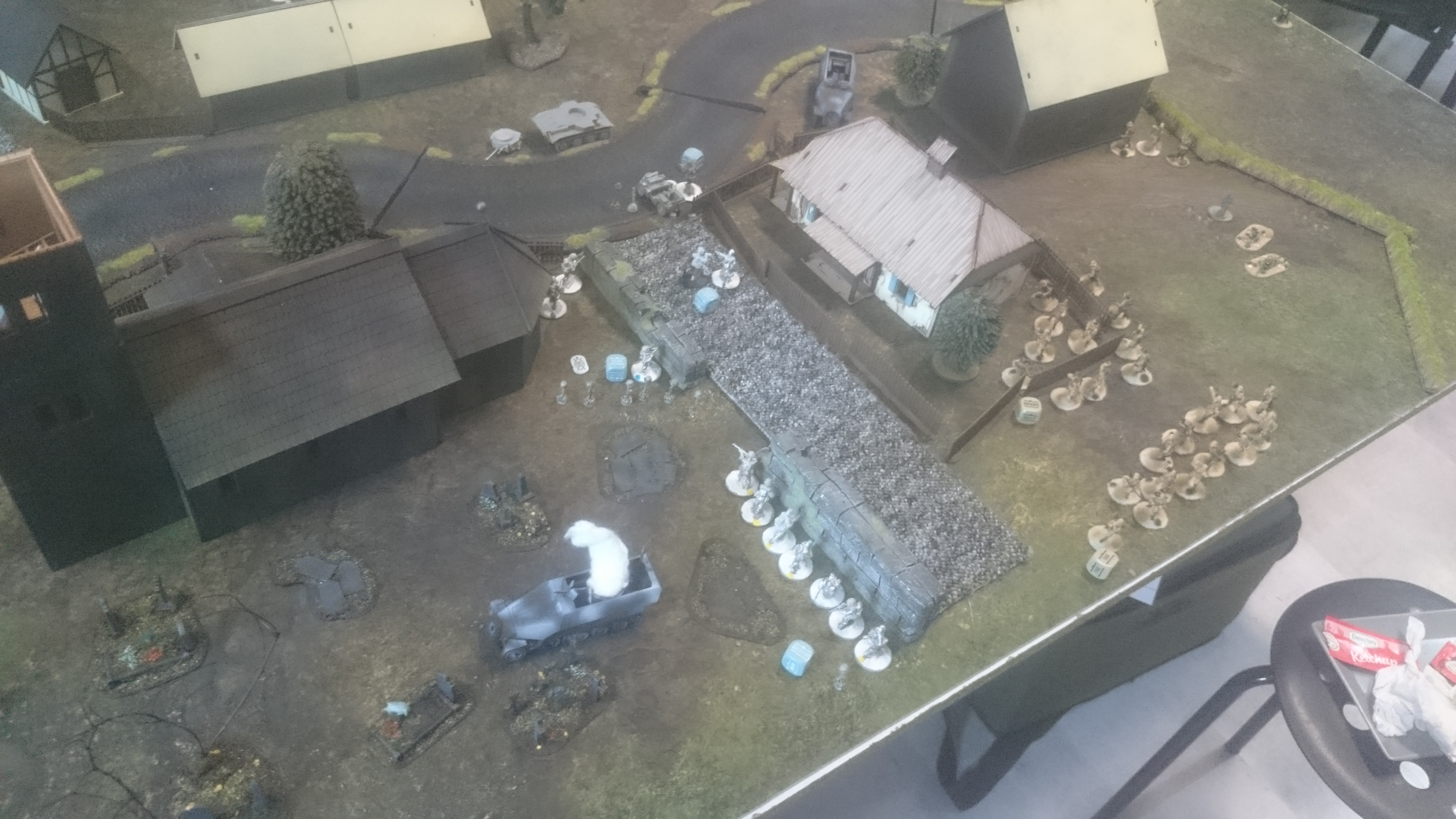 Gluberyt's Airborne versus Regio XXI in a fierce infantry engagement