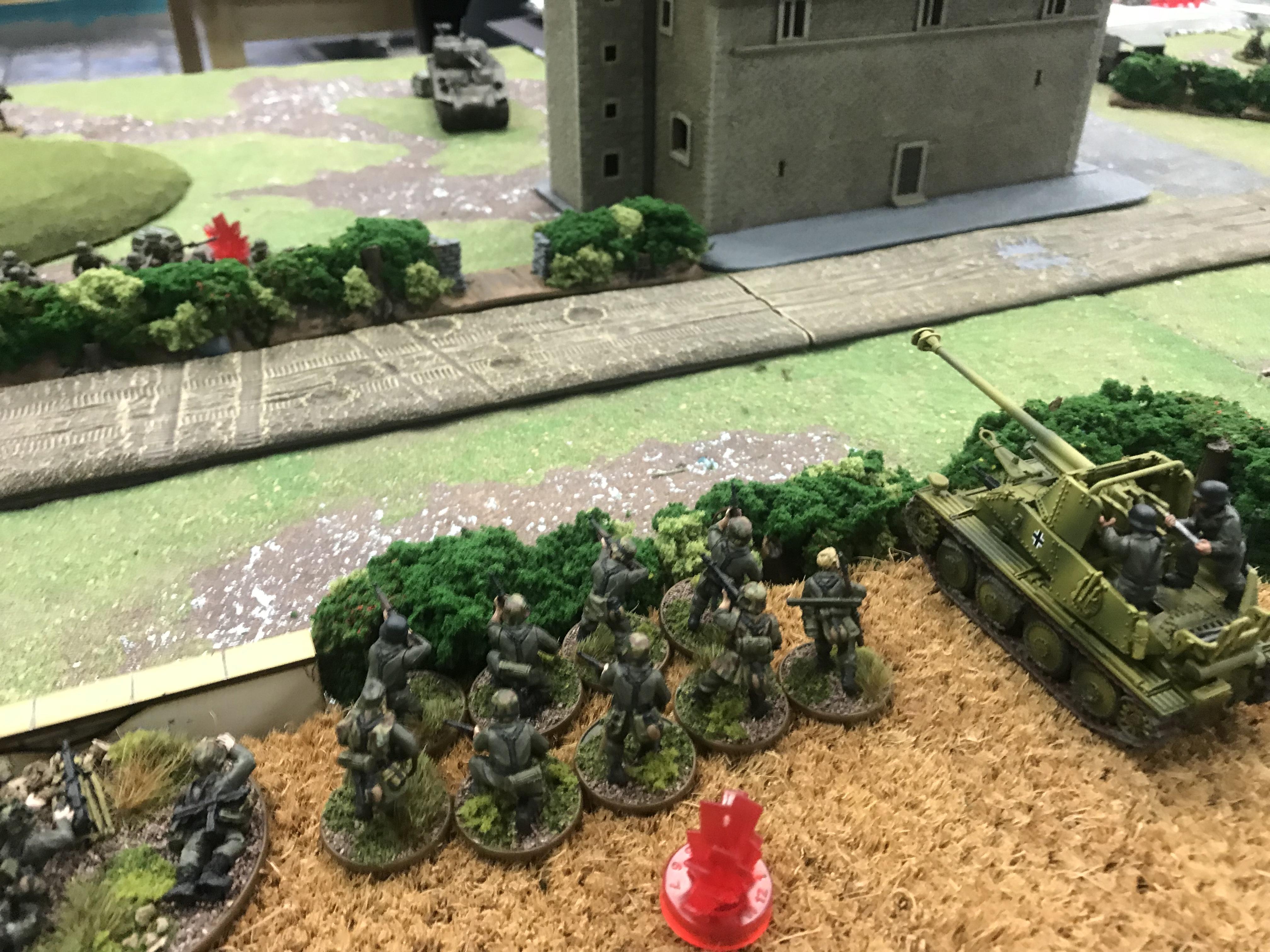 Heer Defenders versus US Rejects in a fierce infantry engagement