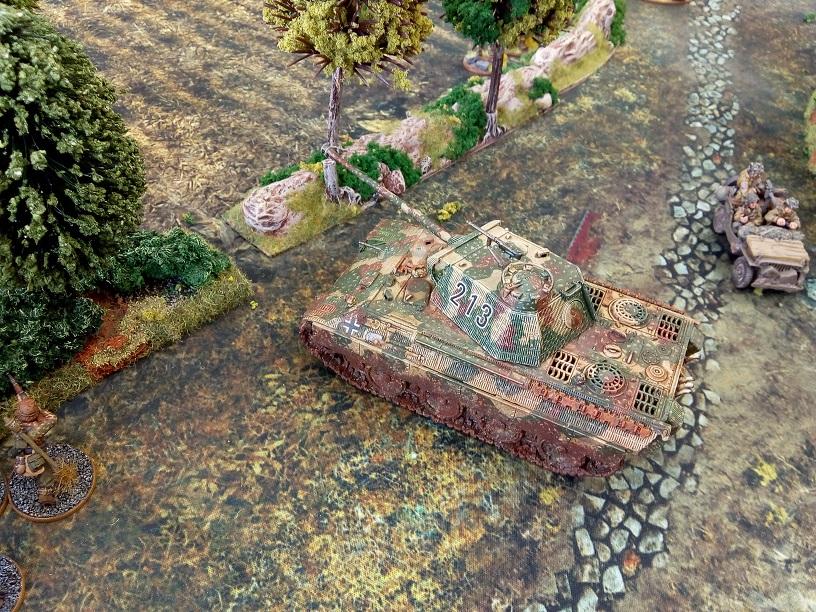 Kampfgruppe Donnervogel versus Fox Company in a fierce infantry engagement