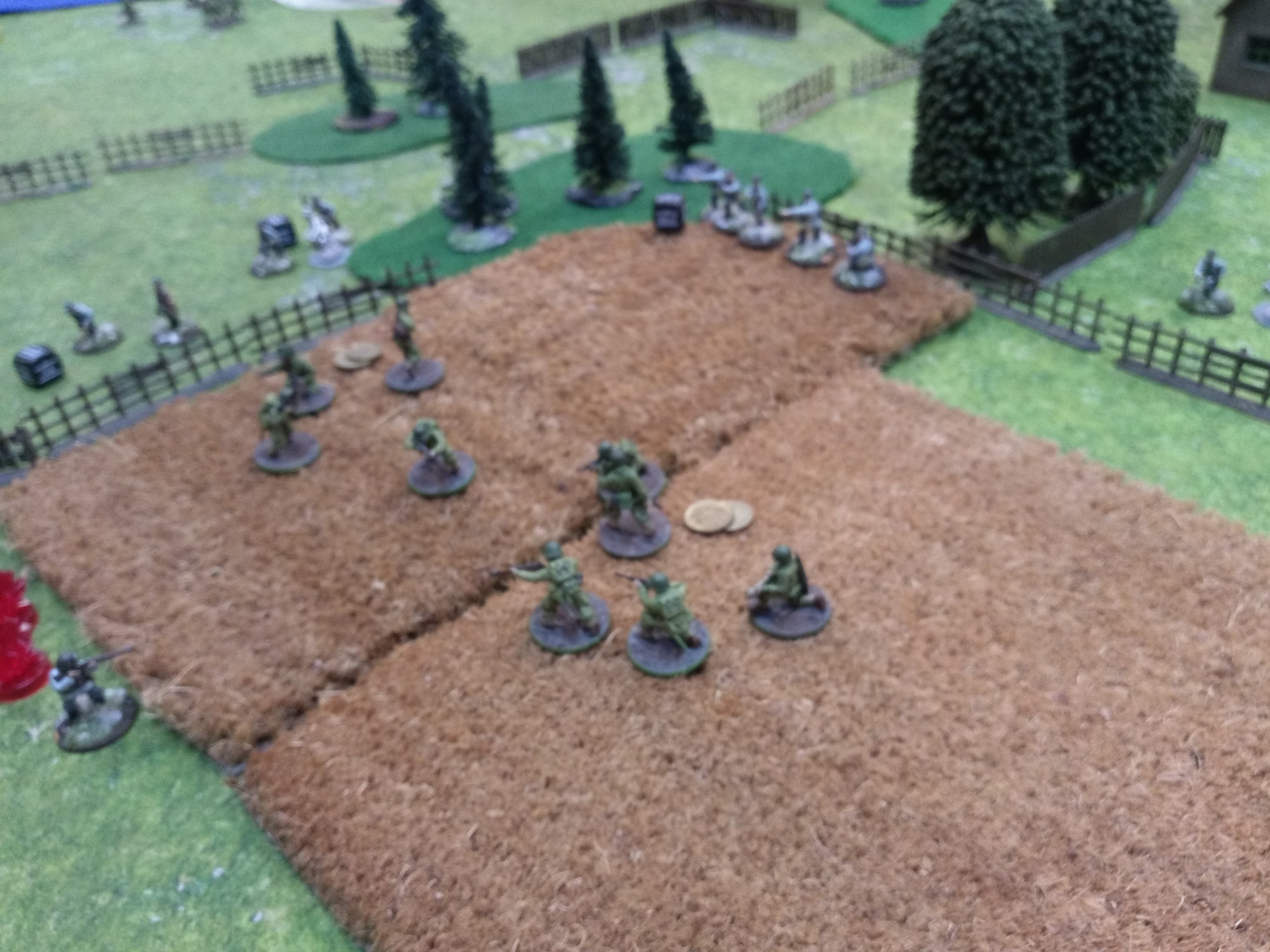 Simo Hayha versus White Fire Batalion in a fierce infantry engagement