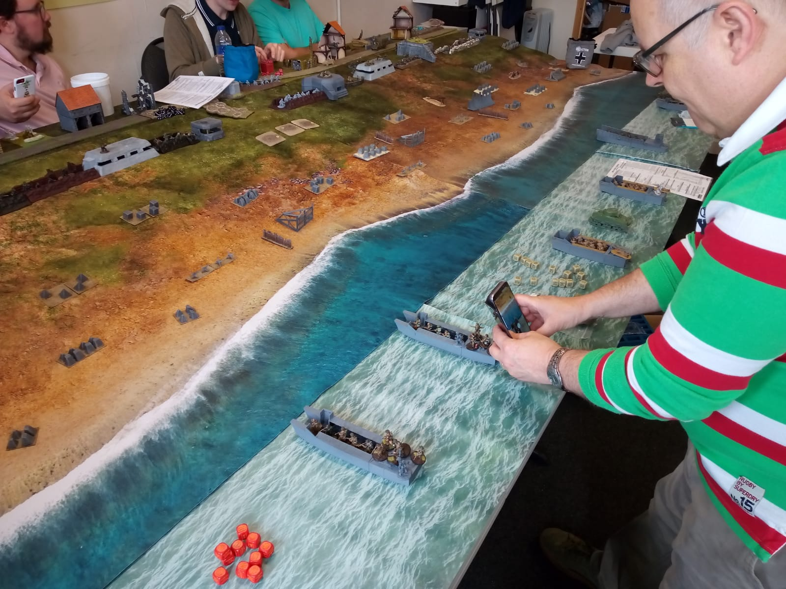 Uptielang versus Mismatched men in a fierce infantry engagement