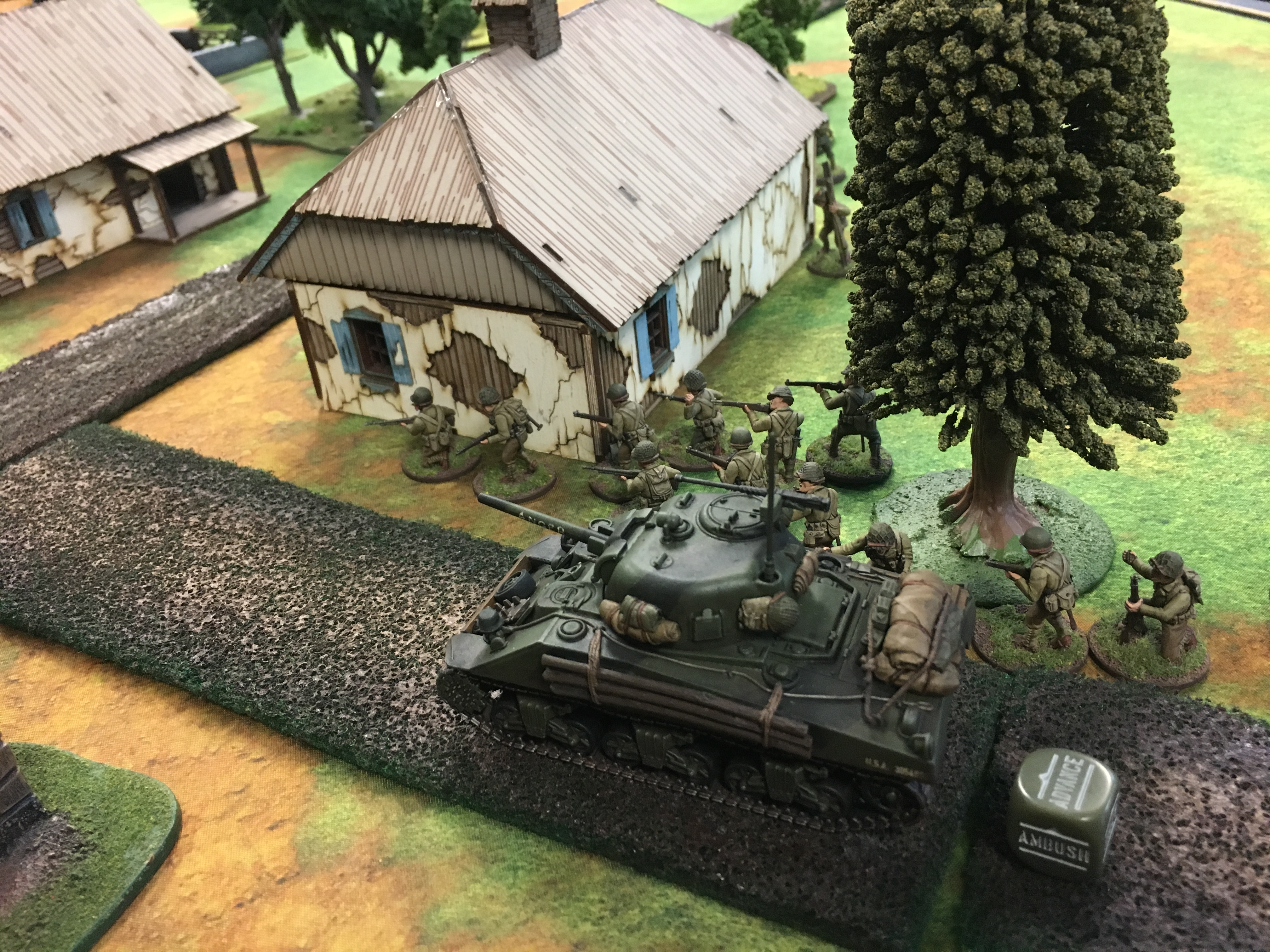 The Furious versus 2nd SS Panzer Division in a fierce infantry engagement