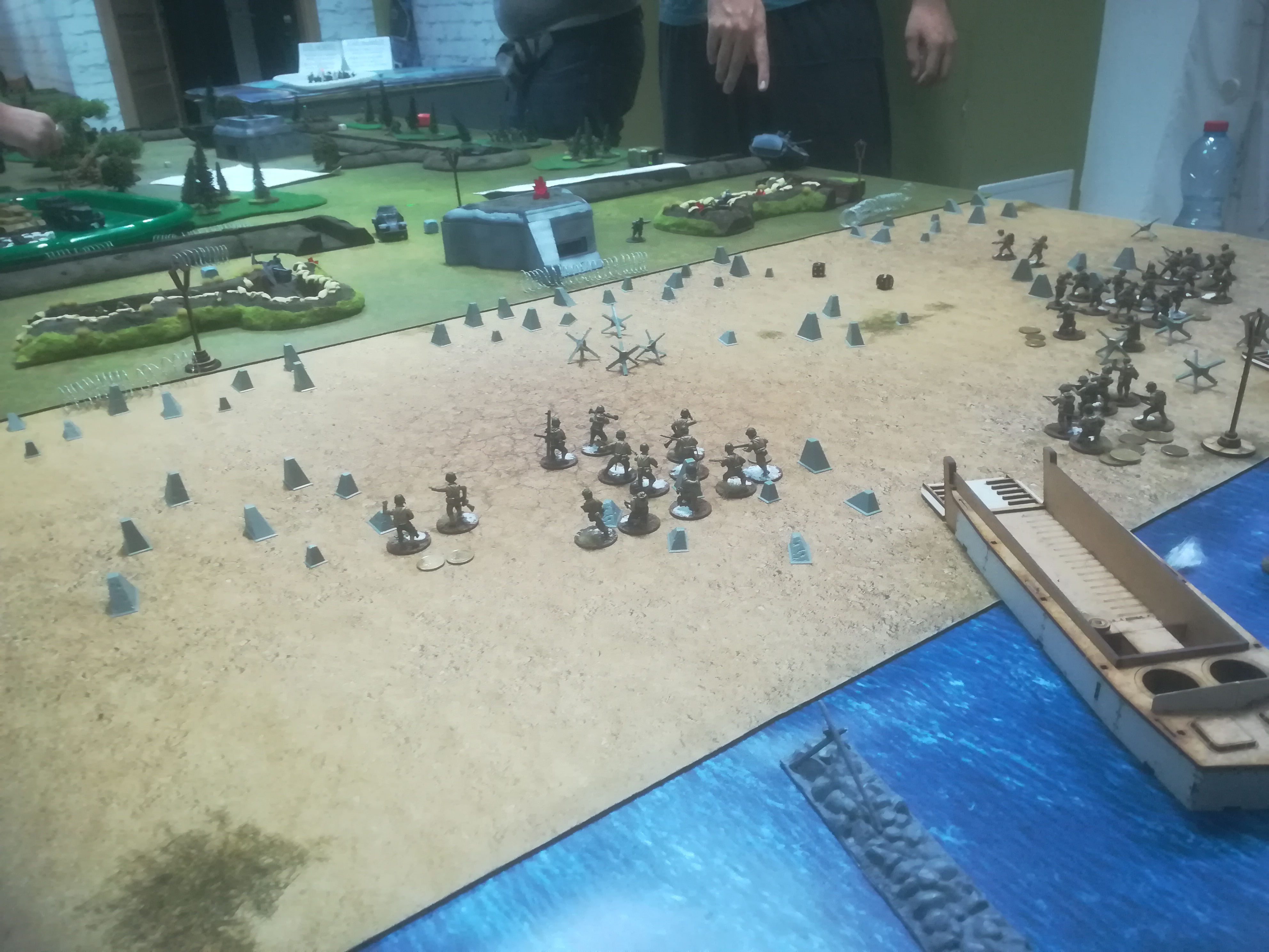 White Fire Batalion versus Fallschirmjager Sturmgruppe 7 in a fierce infantry engagement