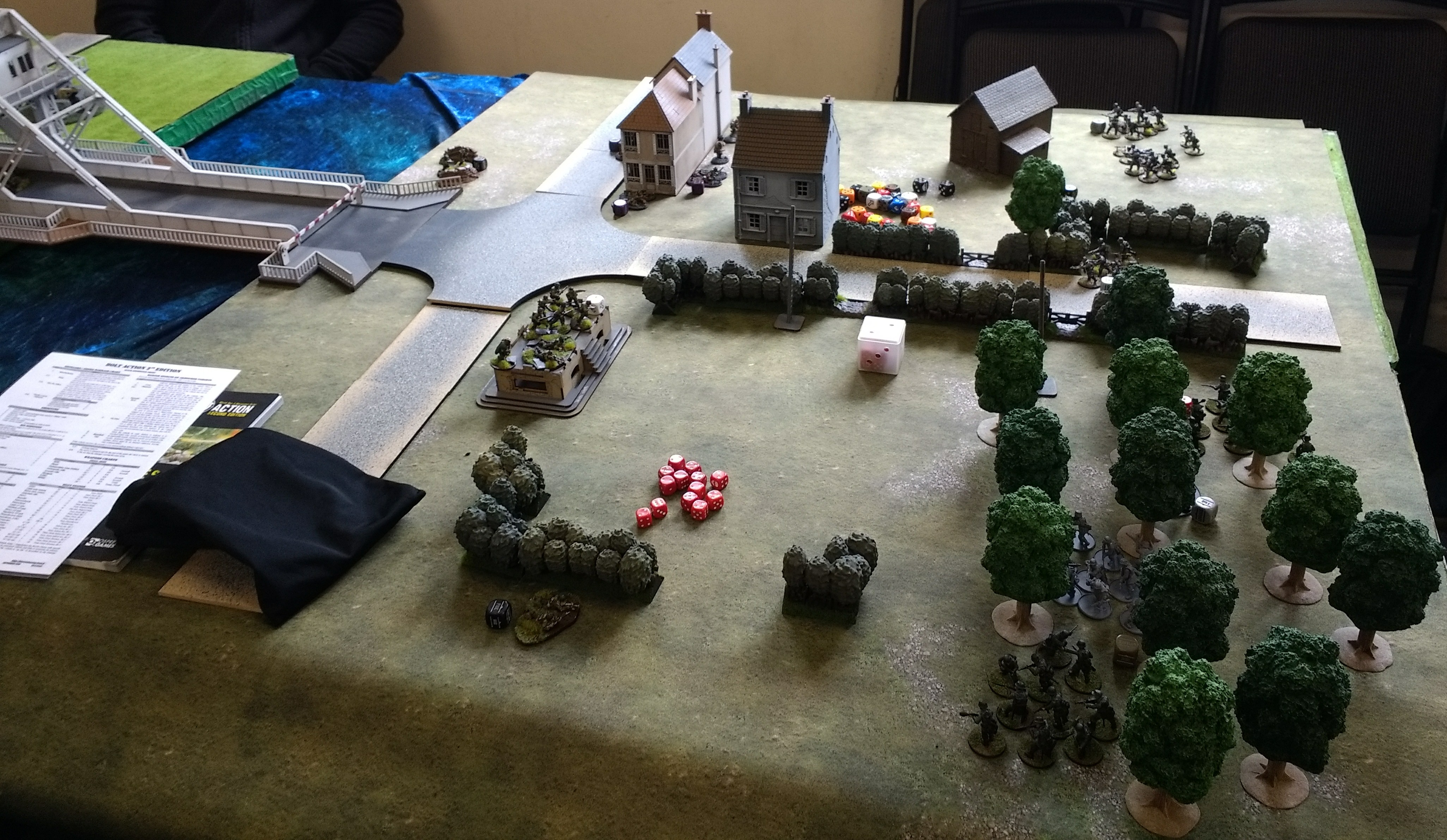 Commando Bait versus Nick Notorious Nightfighters in a fierce infantry engagement