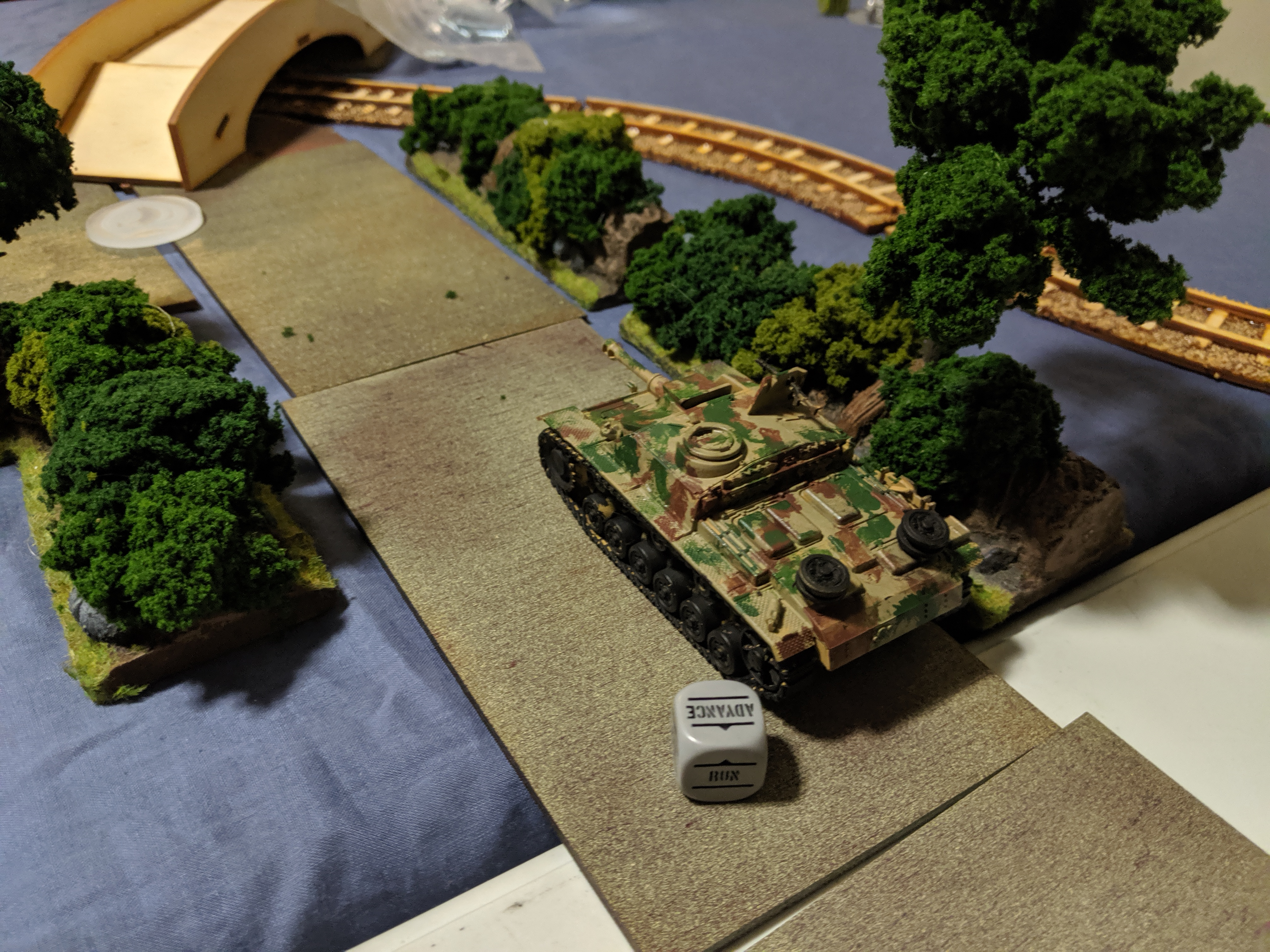 Germans Falling Out of the Sky versus La Nueve in a fierce infantry engagement