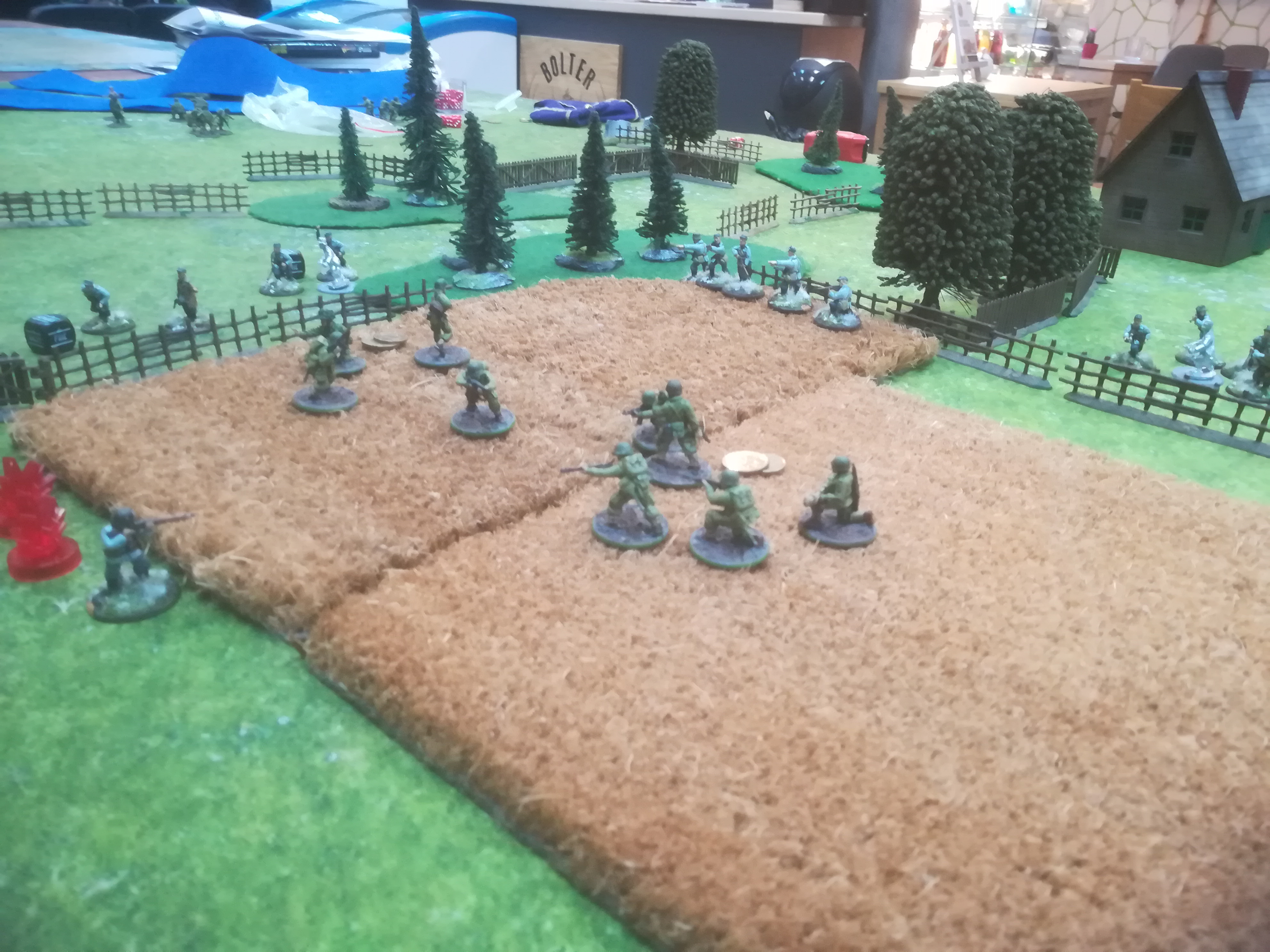 White Fire Batalion versus Simo Hayha in a fierce infantry engagement
