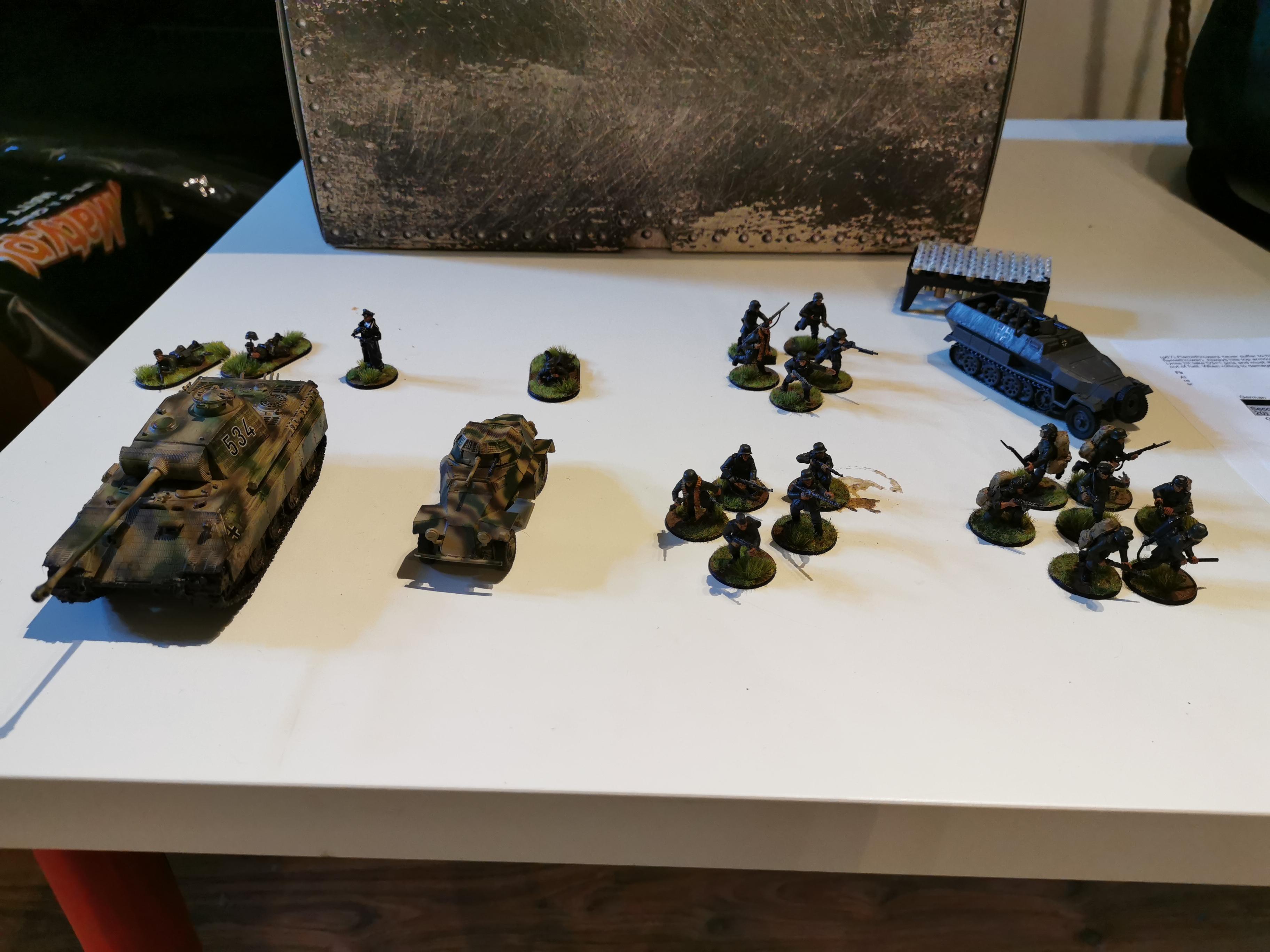 21th Panzer Division versus Regina Rifles in a fierce infantry engagement