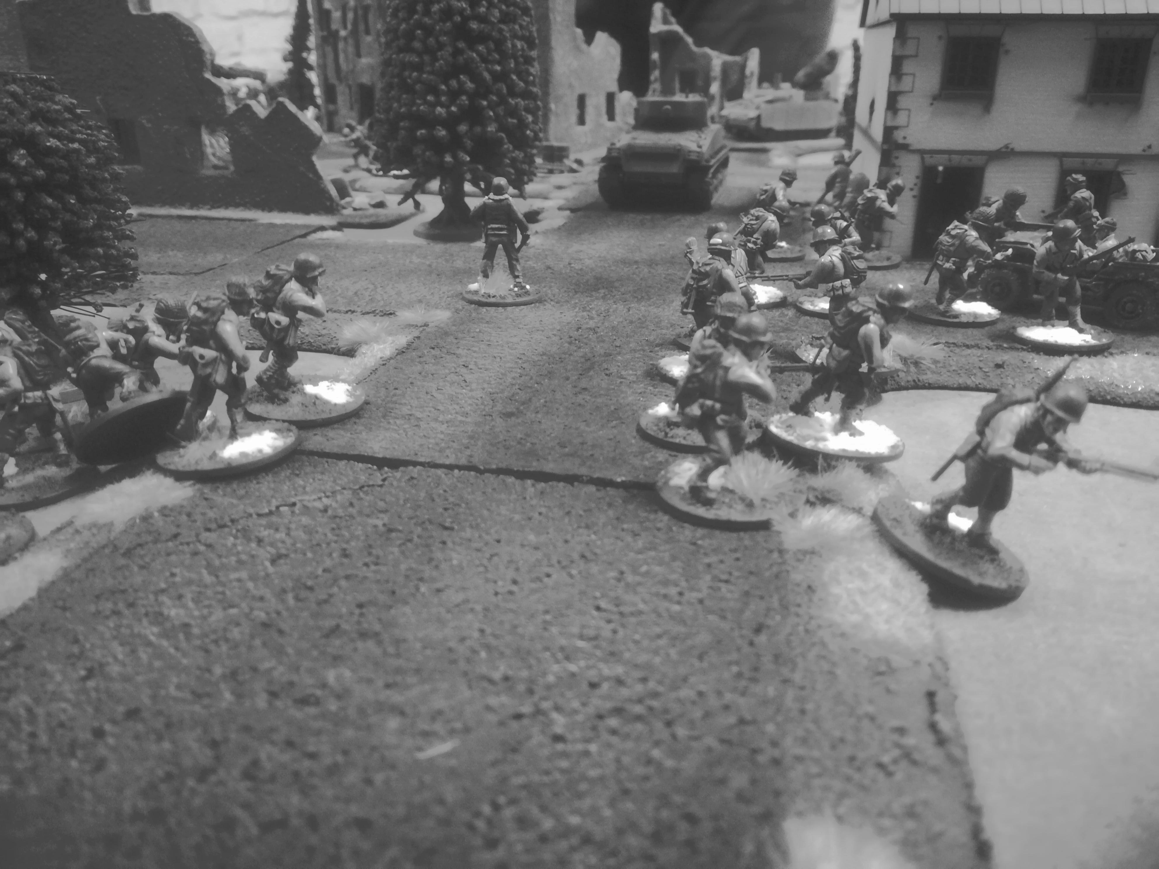 White Fire Batalion versus Regio XXI in a fierce infantry engagement