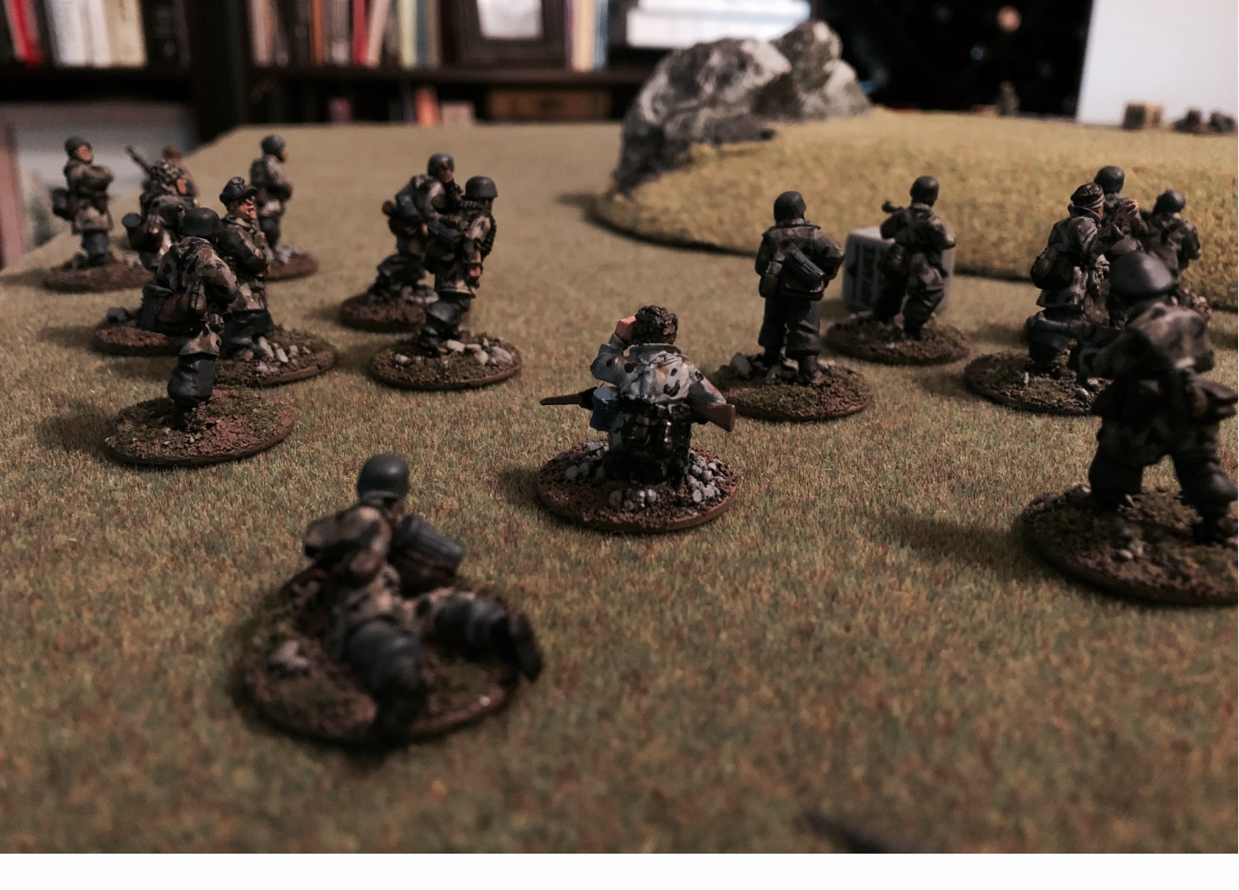 Skinner's Commandos versus The Wall in a fierce infantry engagement