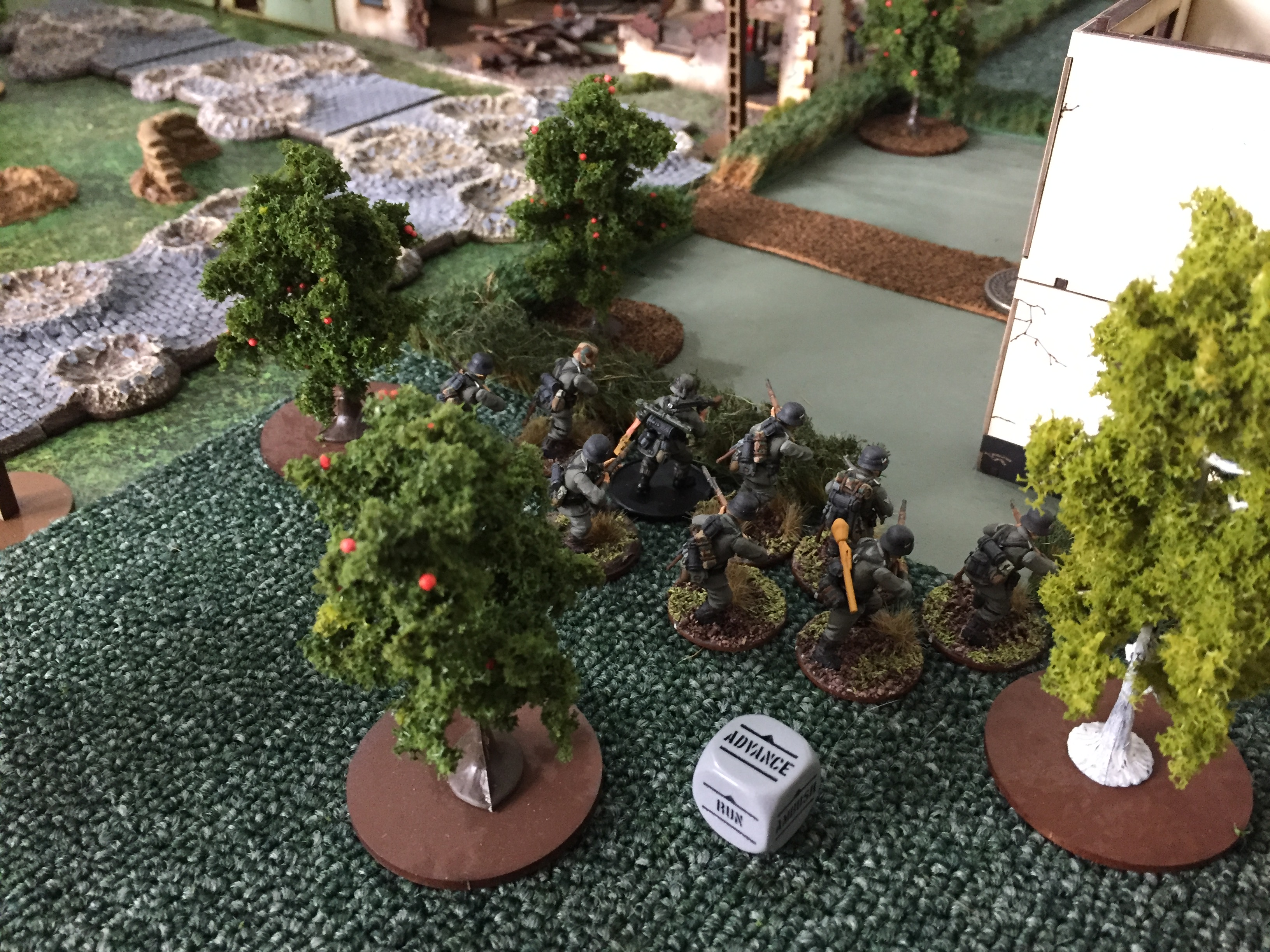 267th Grenadier Regiment versus A Coy, 7th (LI) Para Bn in a fierce infantry engagement