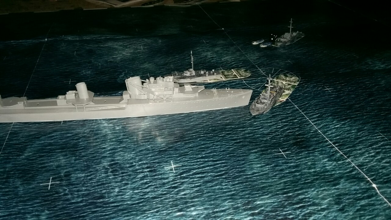 Rippa Coastal Force versus Rippa Kriegswaffen in a coastal engagement