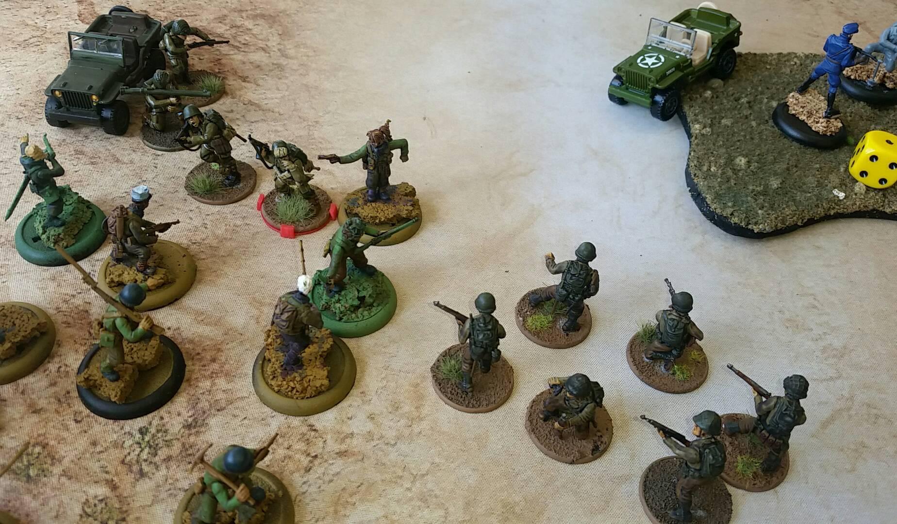 13th DbL Legion versus Germans in a fierce infantry engagement
