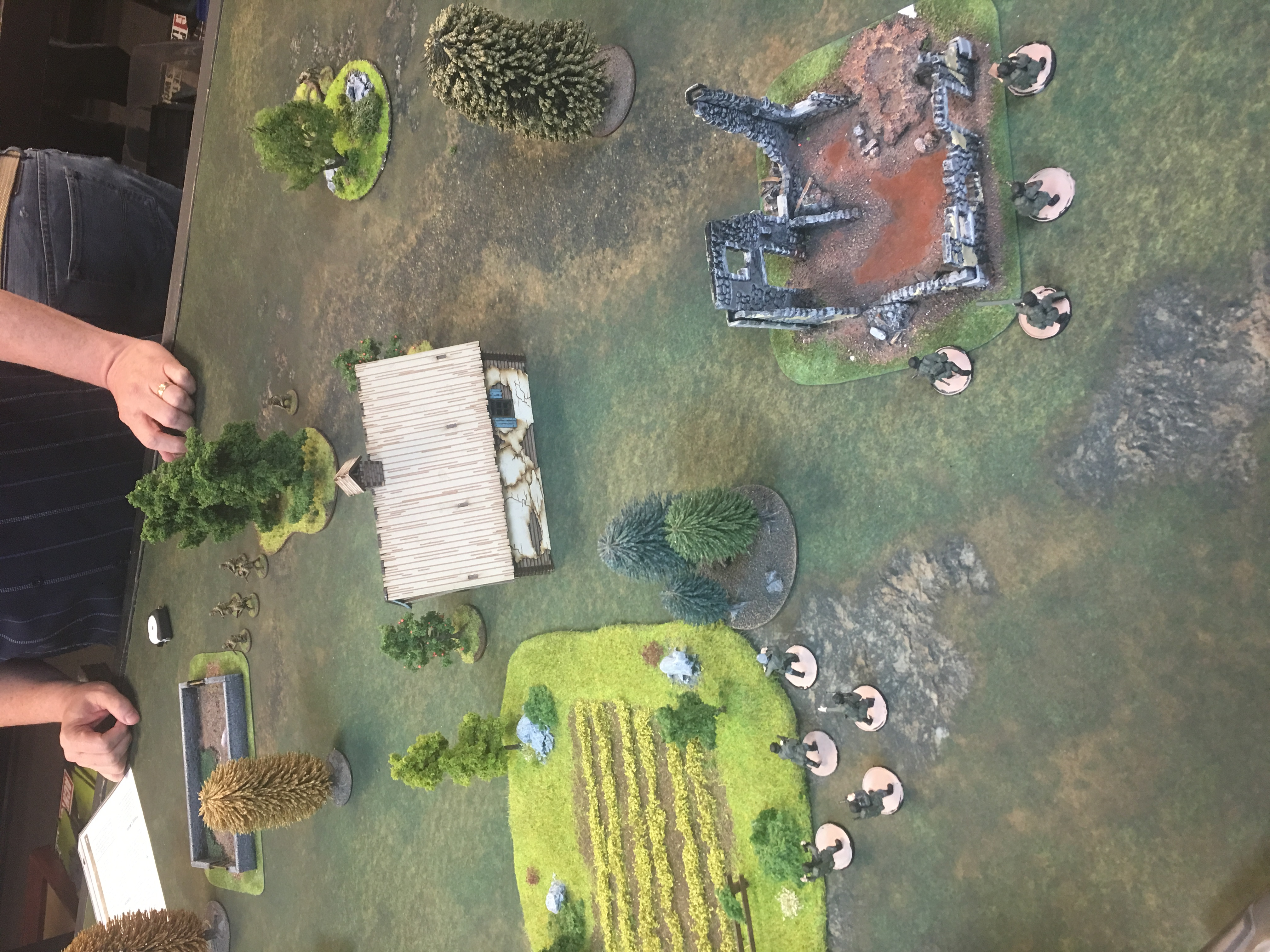 352nd Pionier Battalion versus The Furious in a fierce infantry engagement