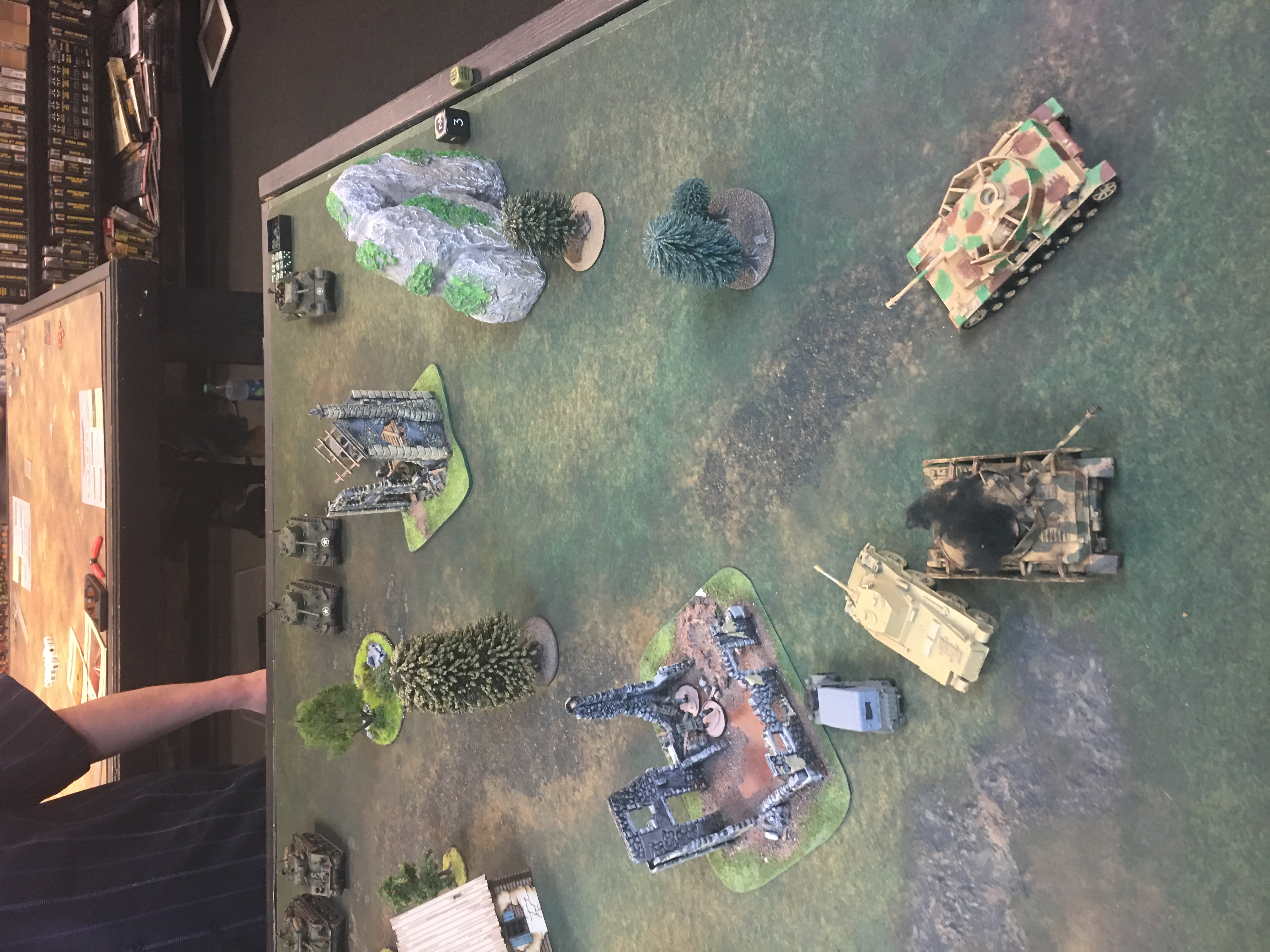 352nd Pionier Battalion versus The Furious in an armoured engagement