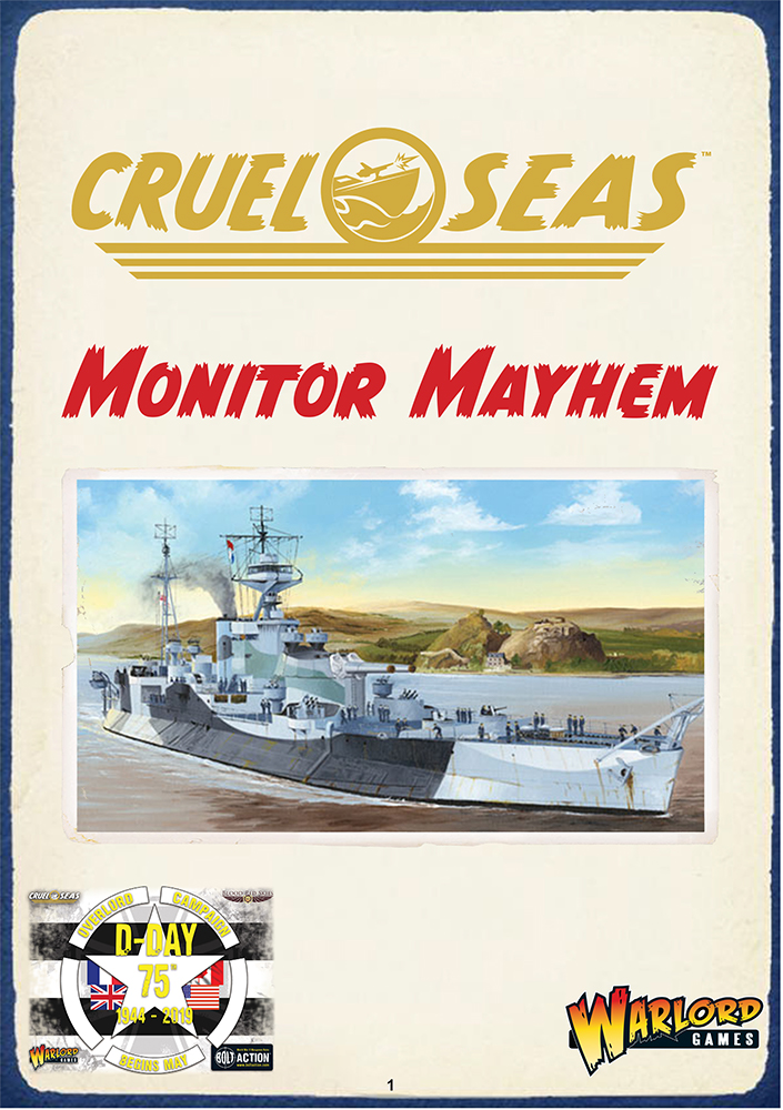 Monitor Mayhem - Cruel Seas Scenario