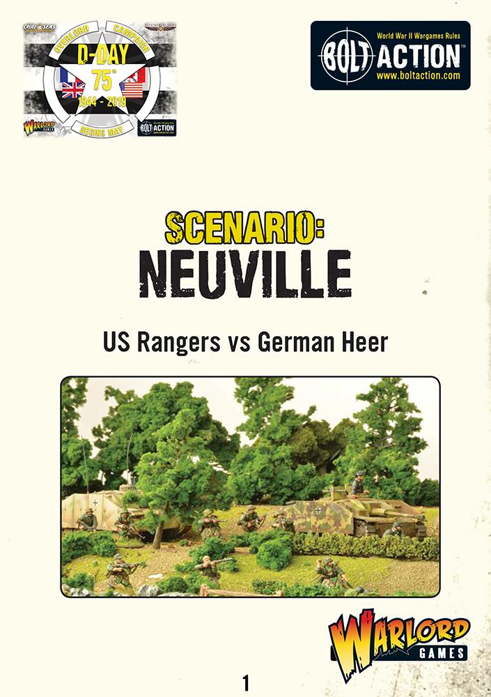 Neuville -Bolt Action Scenario