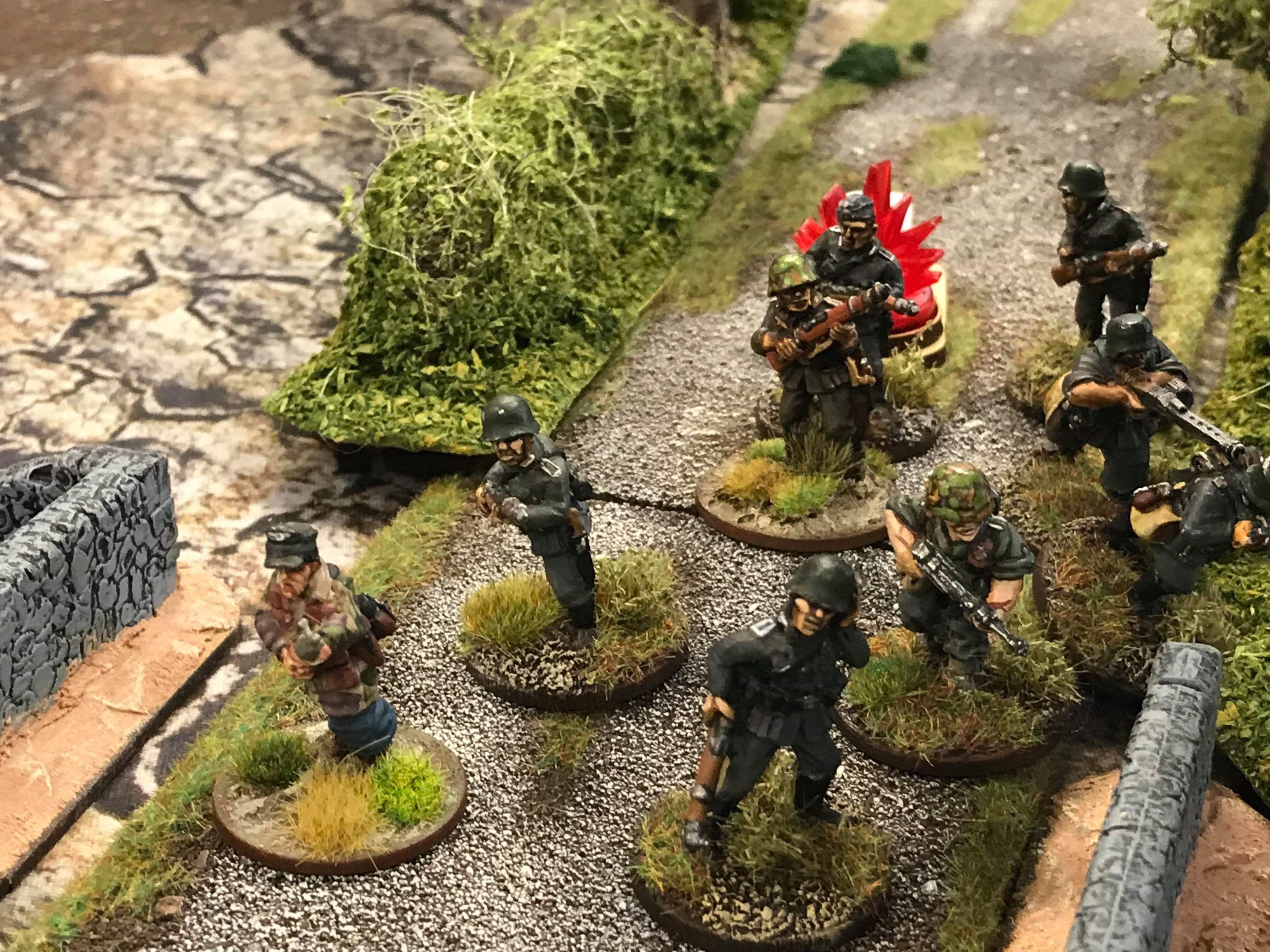Jommes d'honneur versus Kelly's un heroes in a fierce infantry engagement