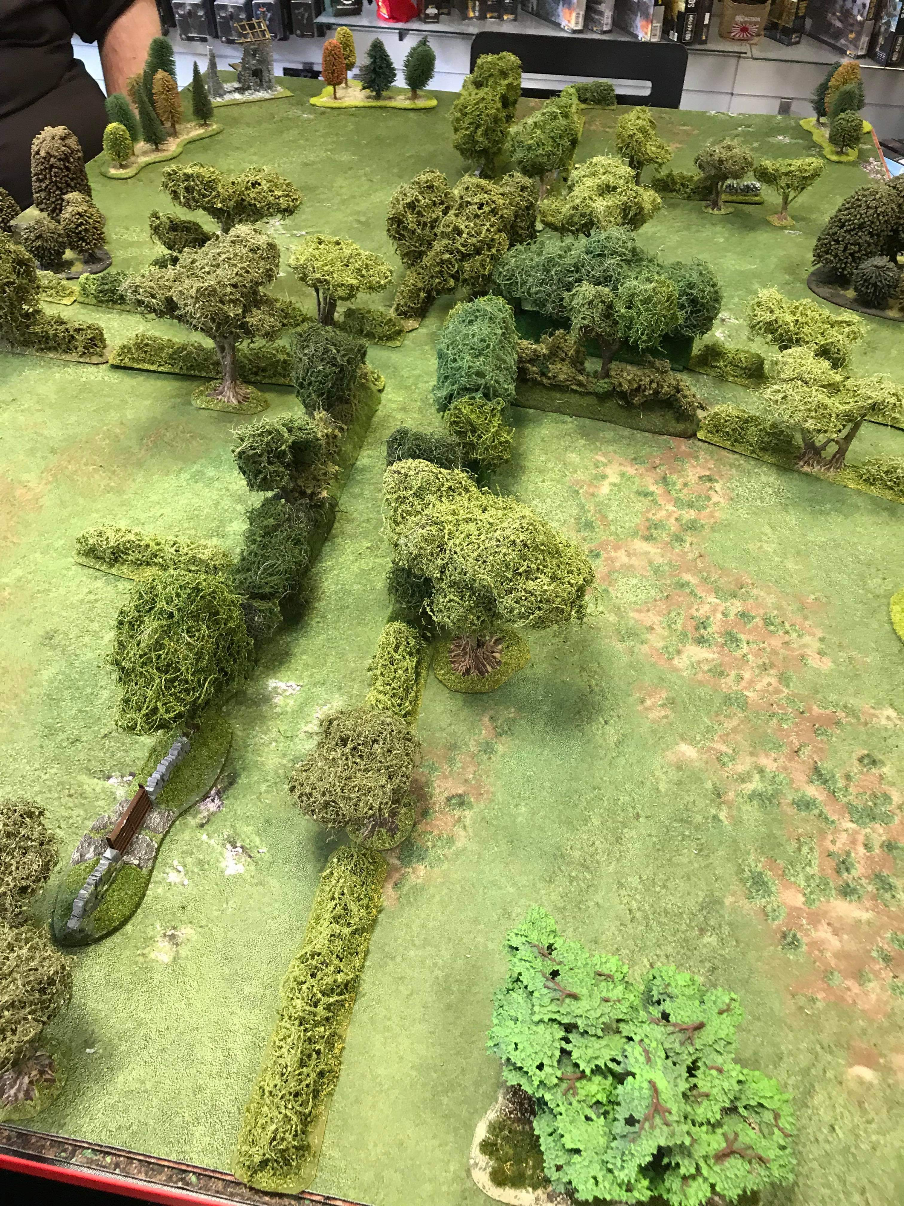 Jommes d'honneur versus Stalins Traitors in a fierce infantry engagement