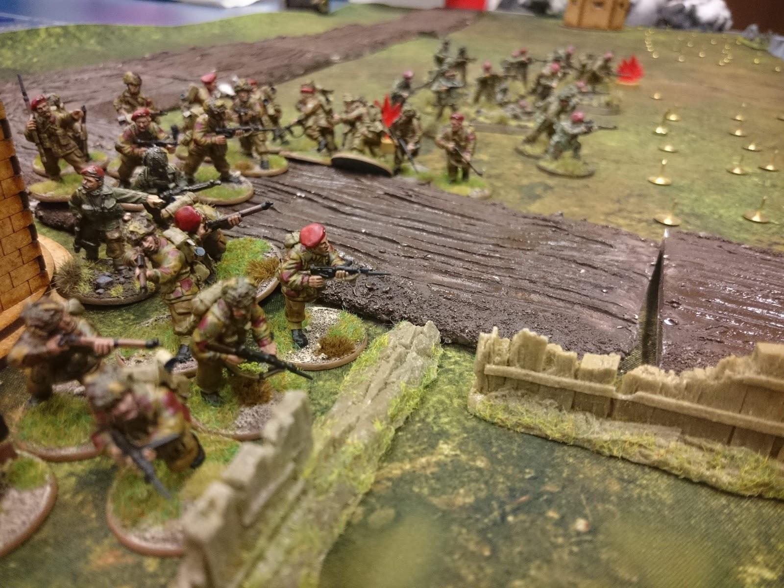 Koniggruppen versus 4KSLI; 11th Armoured Div in a fierce infantry engagement