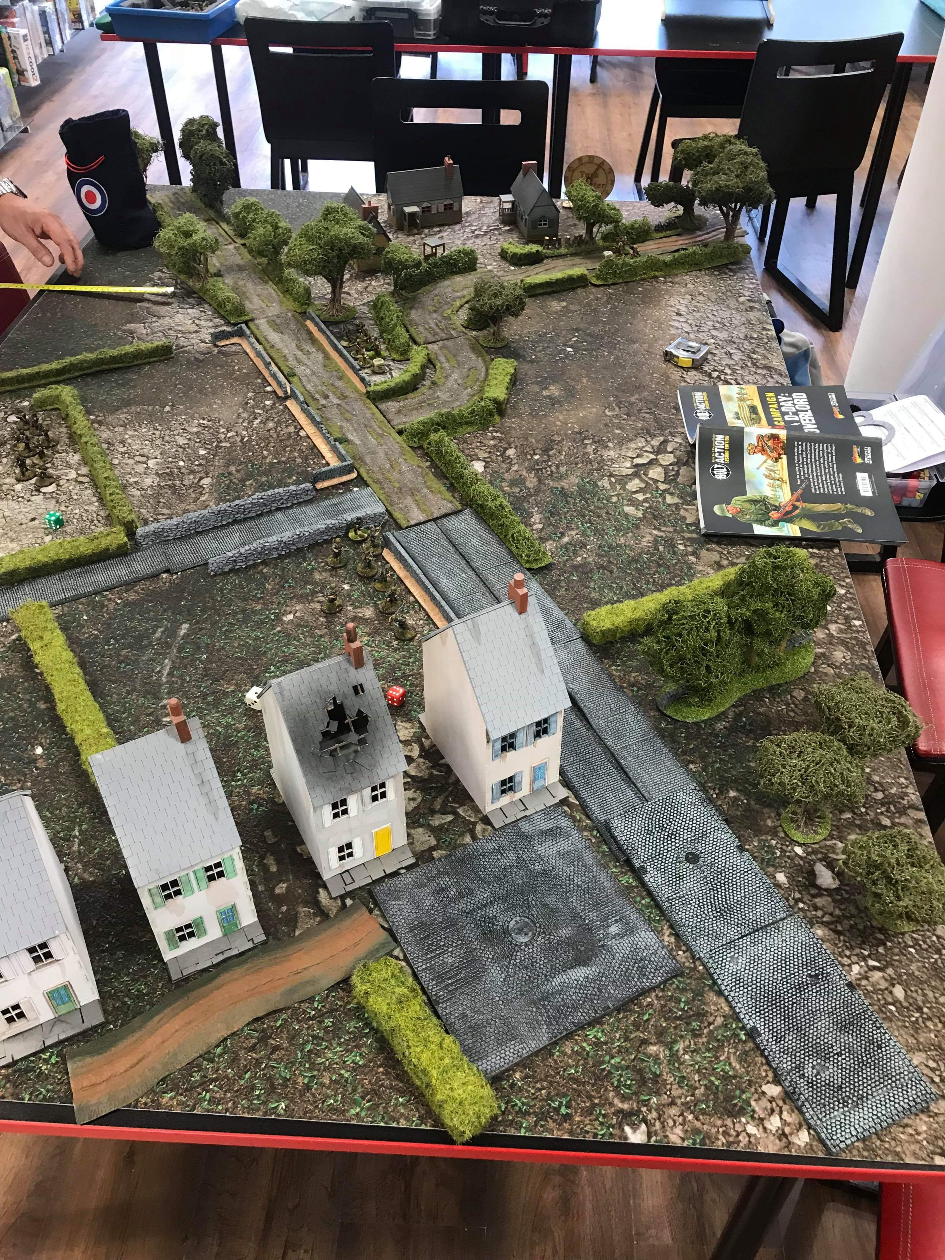 Jommes d'honneur versus Klopps company in a fierce infantry engagement